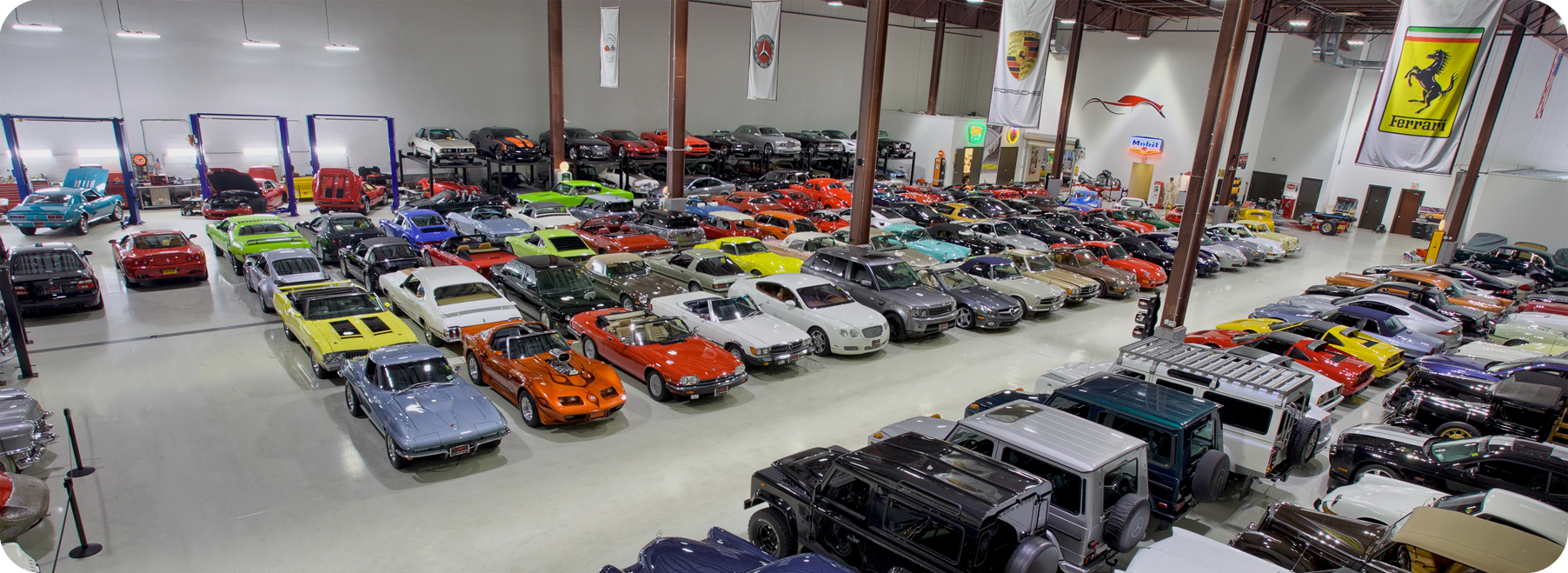 Exotic And Collectible Car Sales Storage Consignment