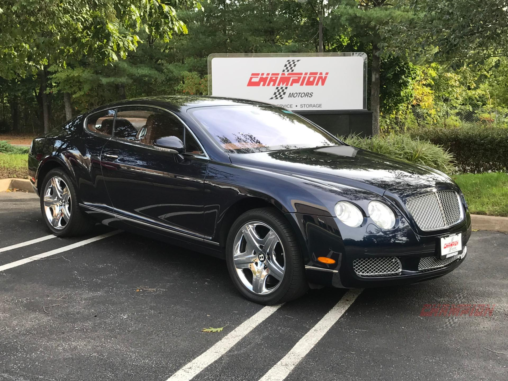 2005 Bentley Continental GT Champion Motors International l Exotic