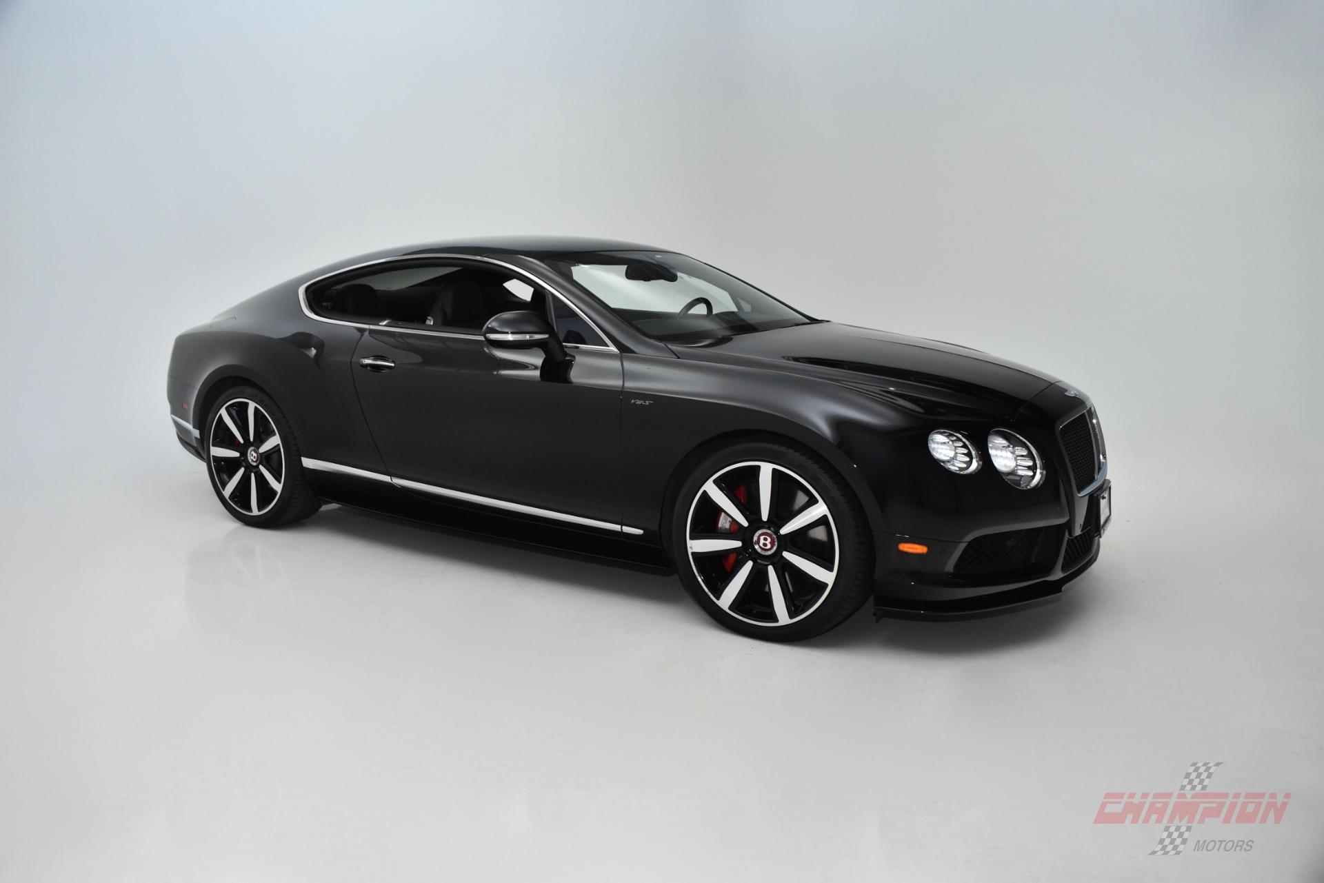 2015 Bentley Continental GT V8 S - Exotic and Classic Car Dealership ...