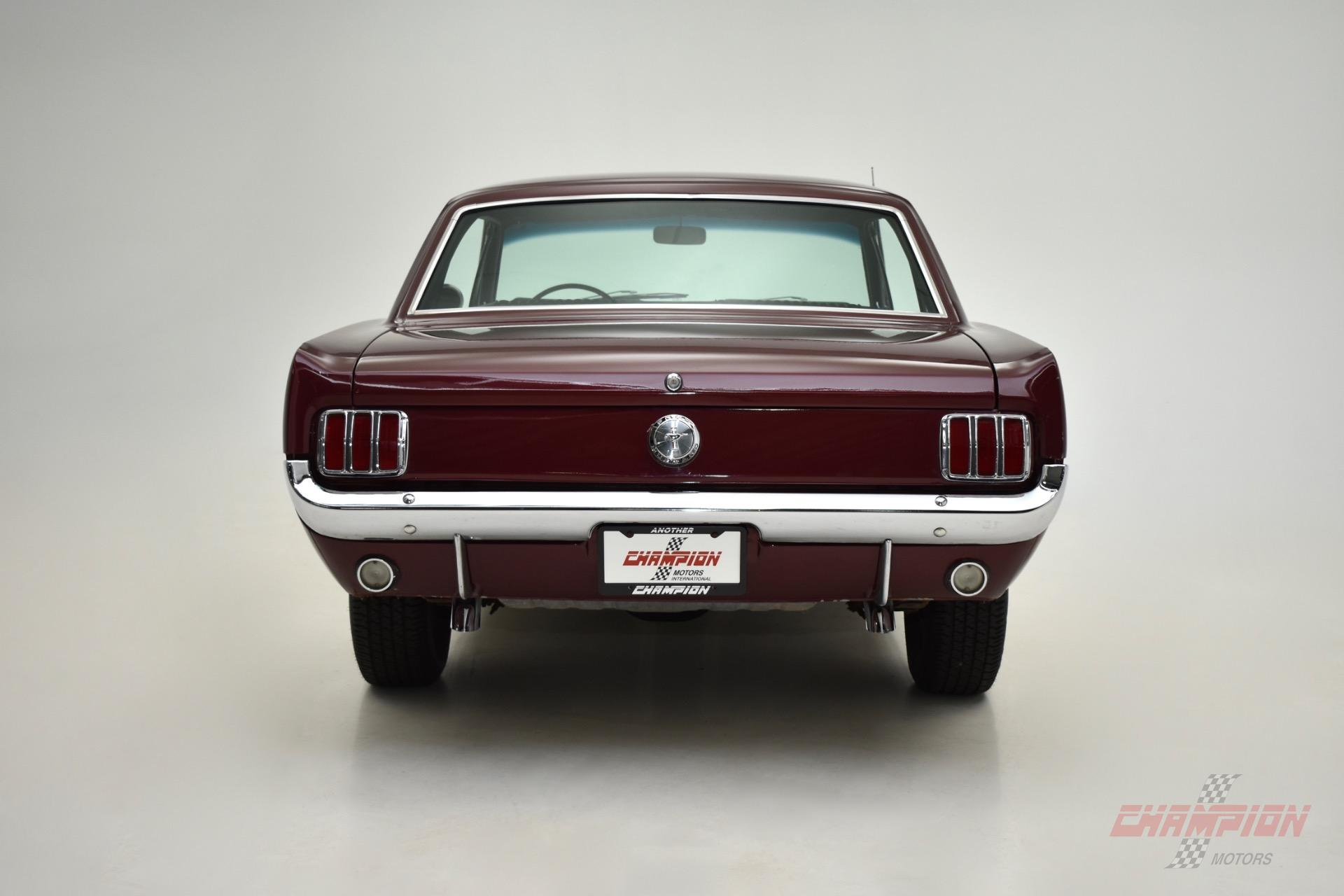 1966 Ford Mustang --: 1966 Ford Mustang  41,522 Miles Burgundy/Maroon Coupe 289 Ci Automatic