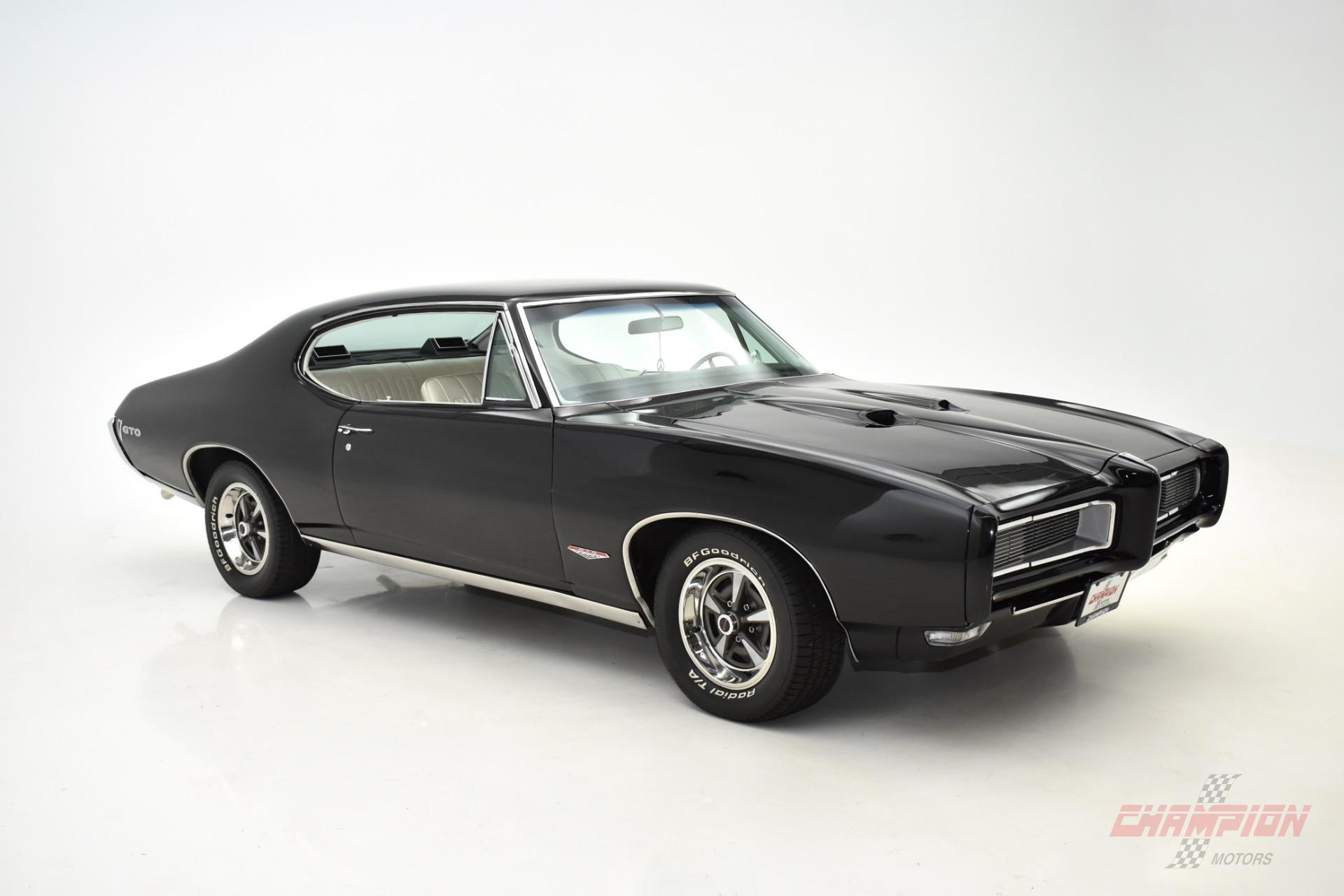 1968 Pontiac GTO Champion Motors International l Exotic Classic