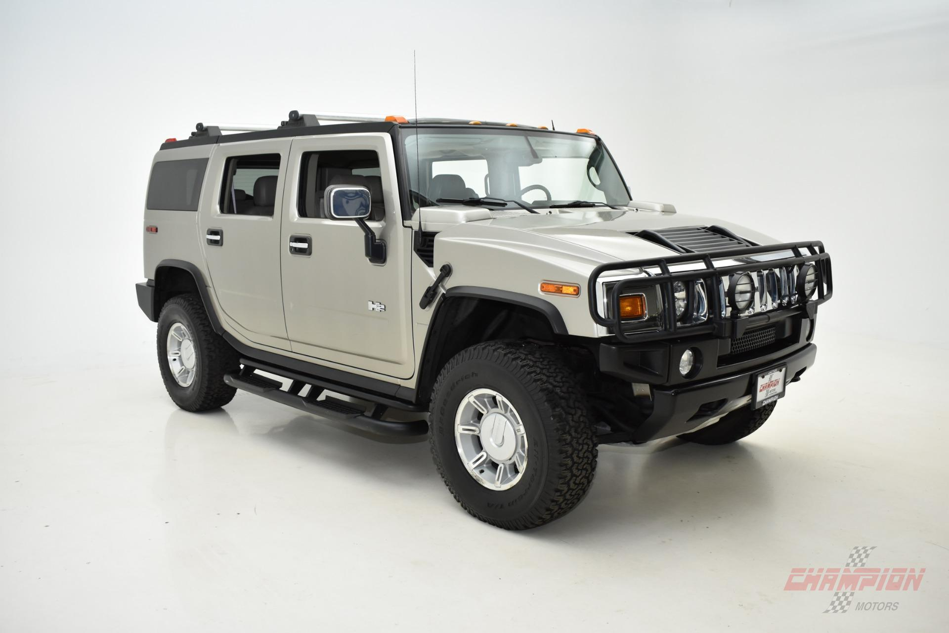 2004 HUMMER H2 Exotic and Classic Car Dealership