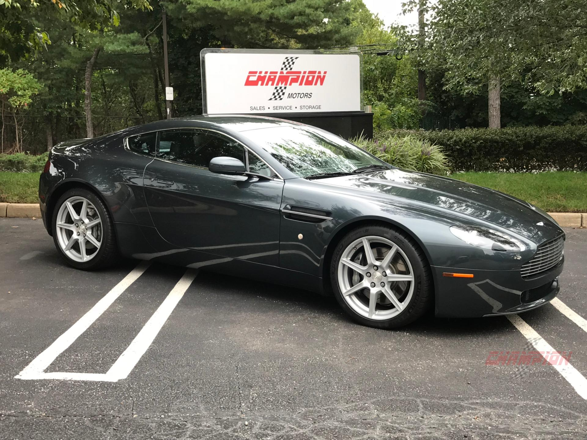 2008 Aston Martin V8 Vantage Champion Motors International L Luxury Classic Vehicle Dealership New York L Rolls Royce Bentley Ferrari Porsche Aston Martin