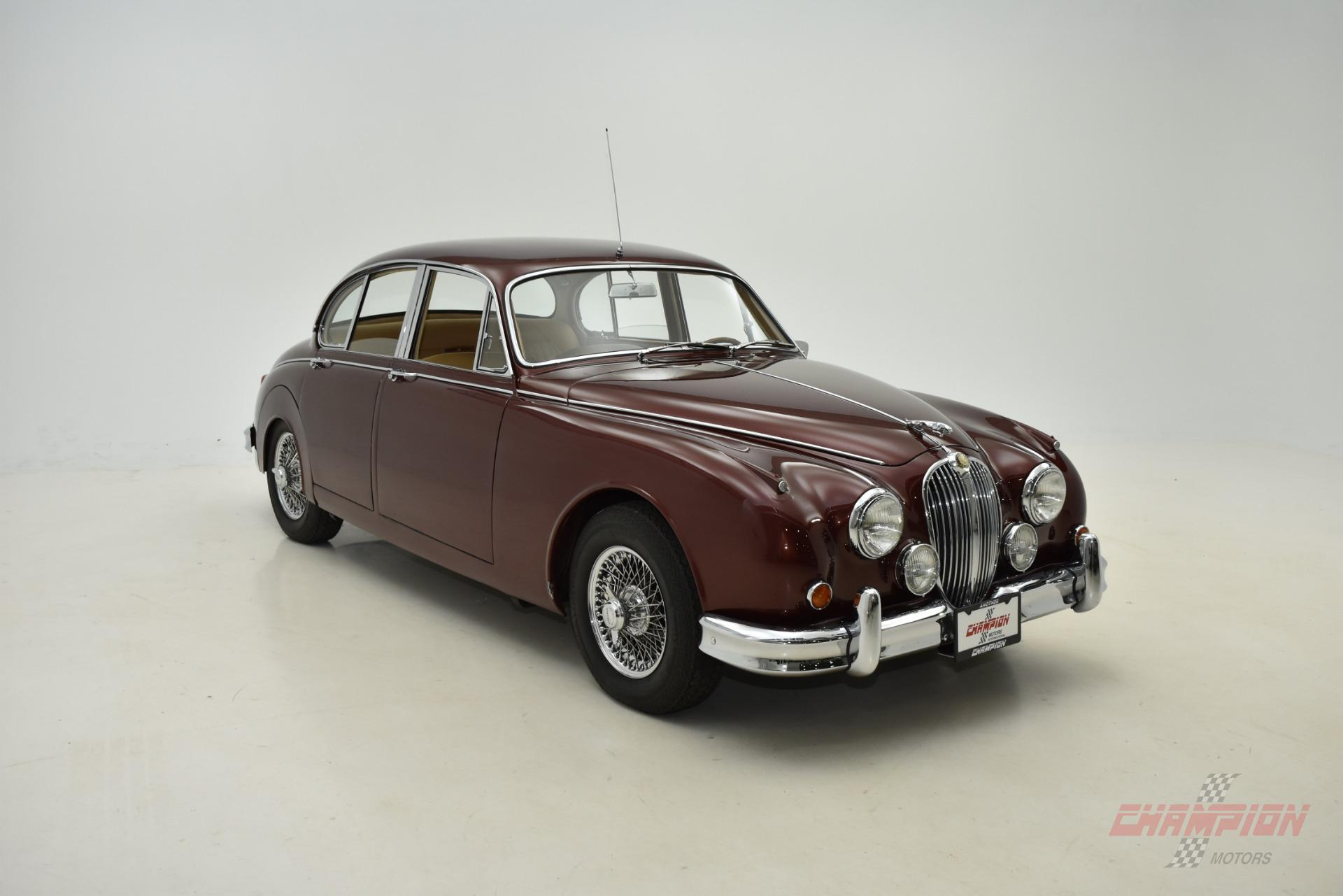 1963 Jaguar Mark 2 Champion Motors International l Exotic Classic