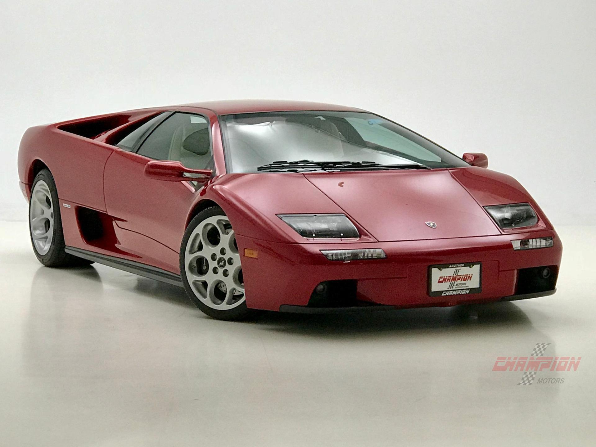 2001 Lamborghini Diablo Vt Champion Motors International L Luxury