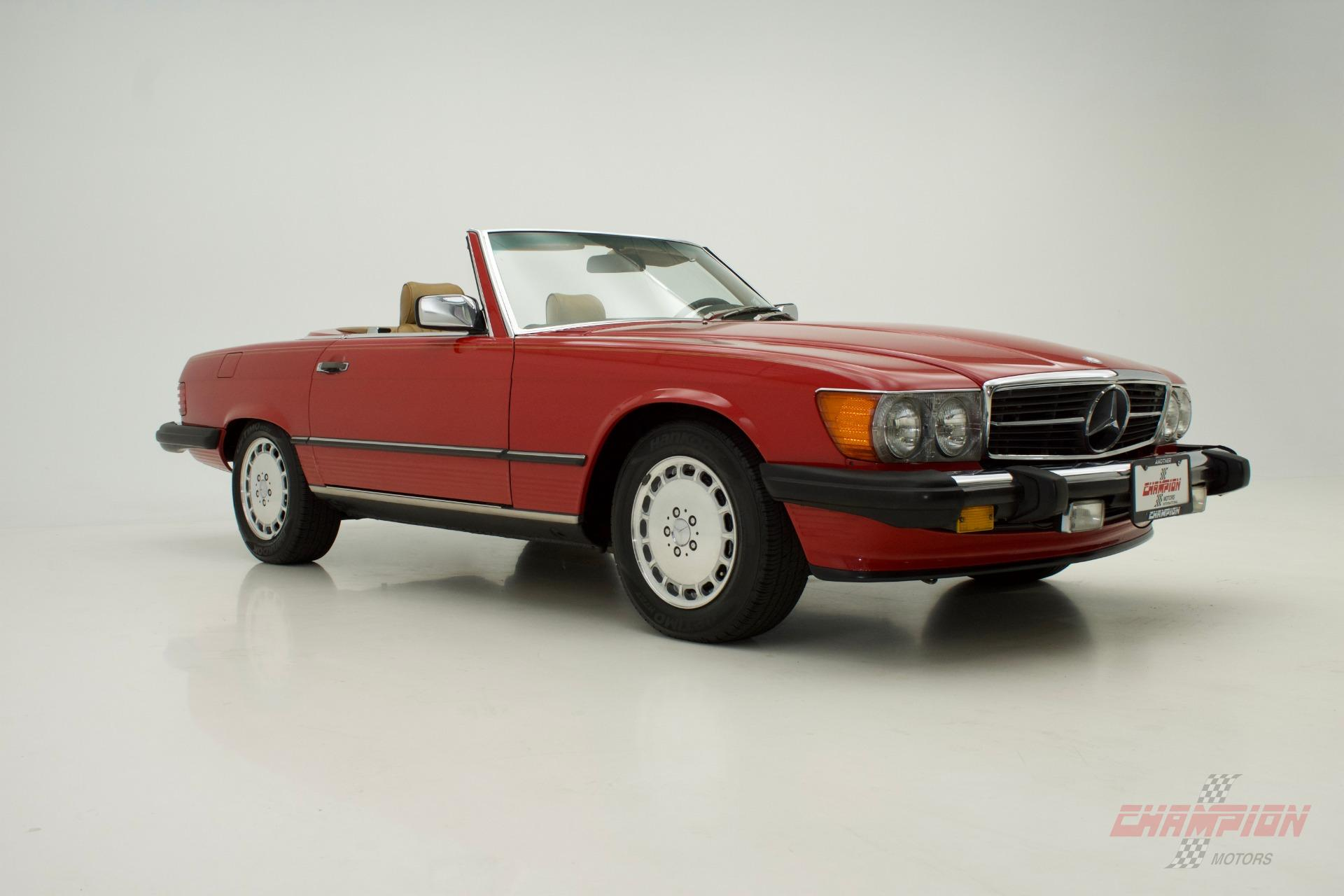 1988 Mercedes Benz 560SL 560 SL