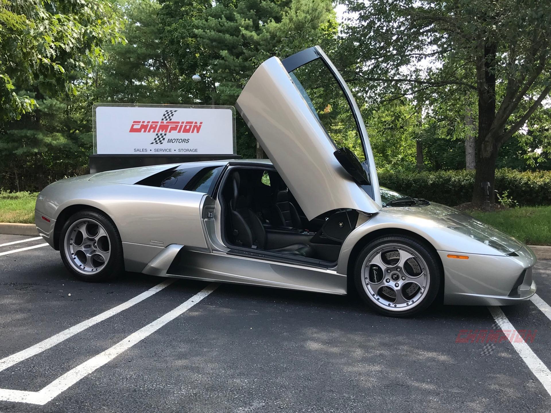 2003 Lamborghini Murcielago 6 Speed
