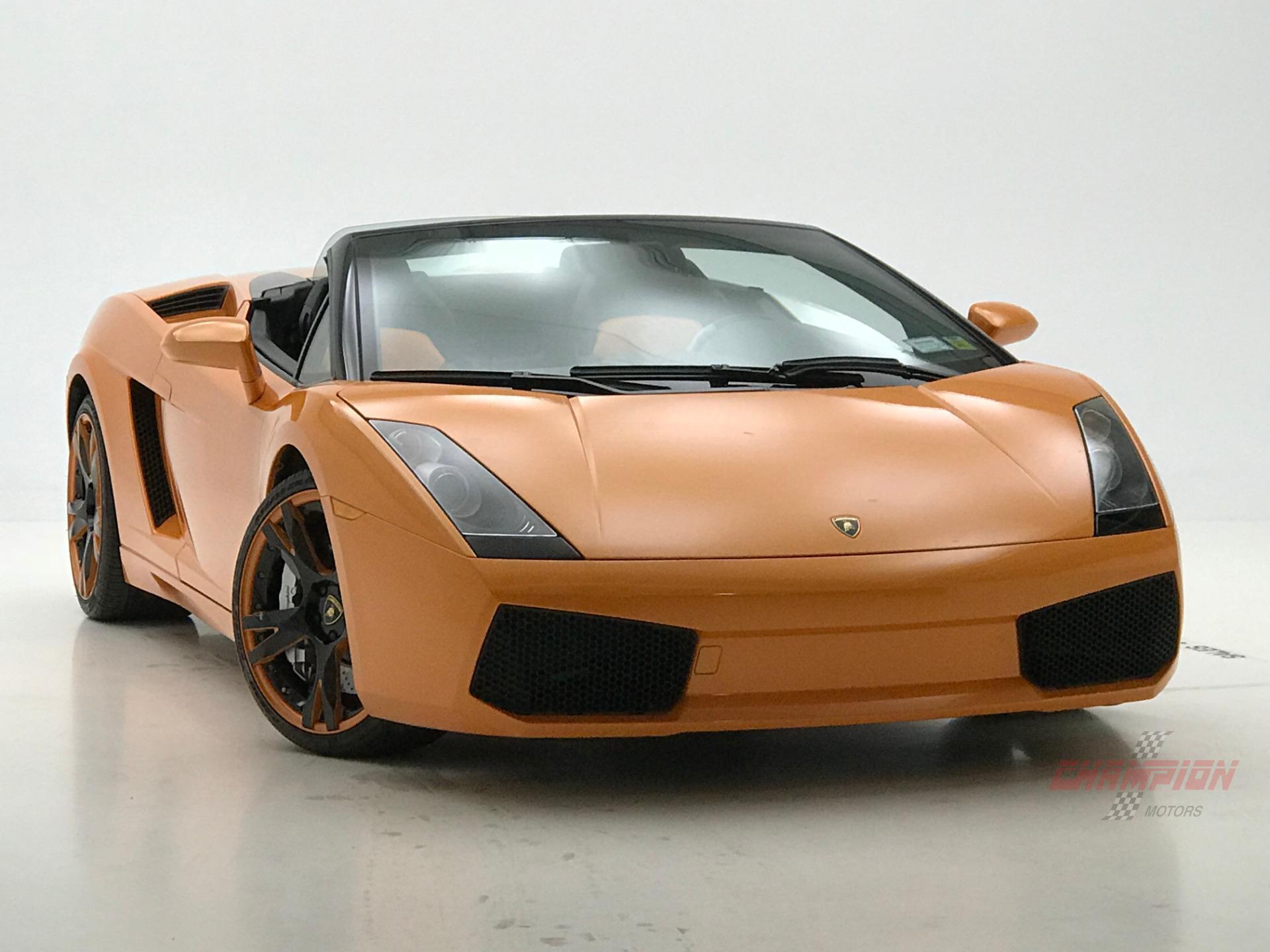 2007 Lamborghini Gallardo Spyder Champion Motors