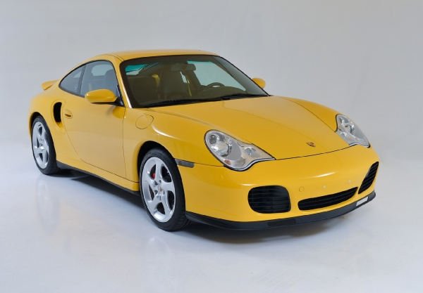 2001 Porsche 911 Turbo Coupe