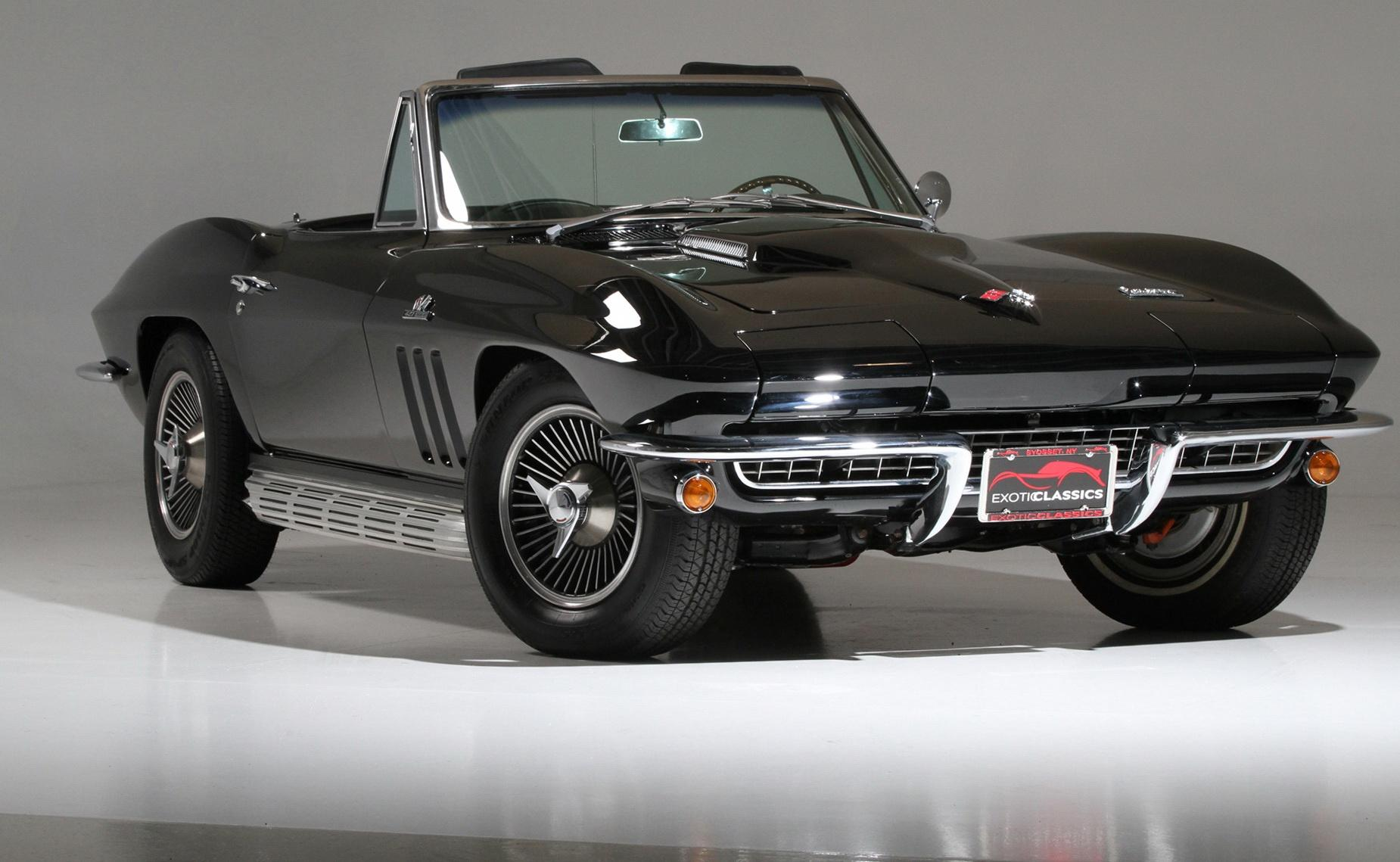 Elegant 1966 Chevrolet Corvette Convertible 427  Exotic And Classic Car