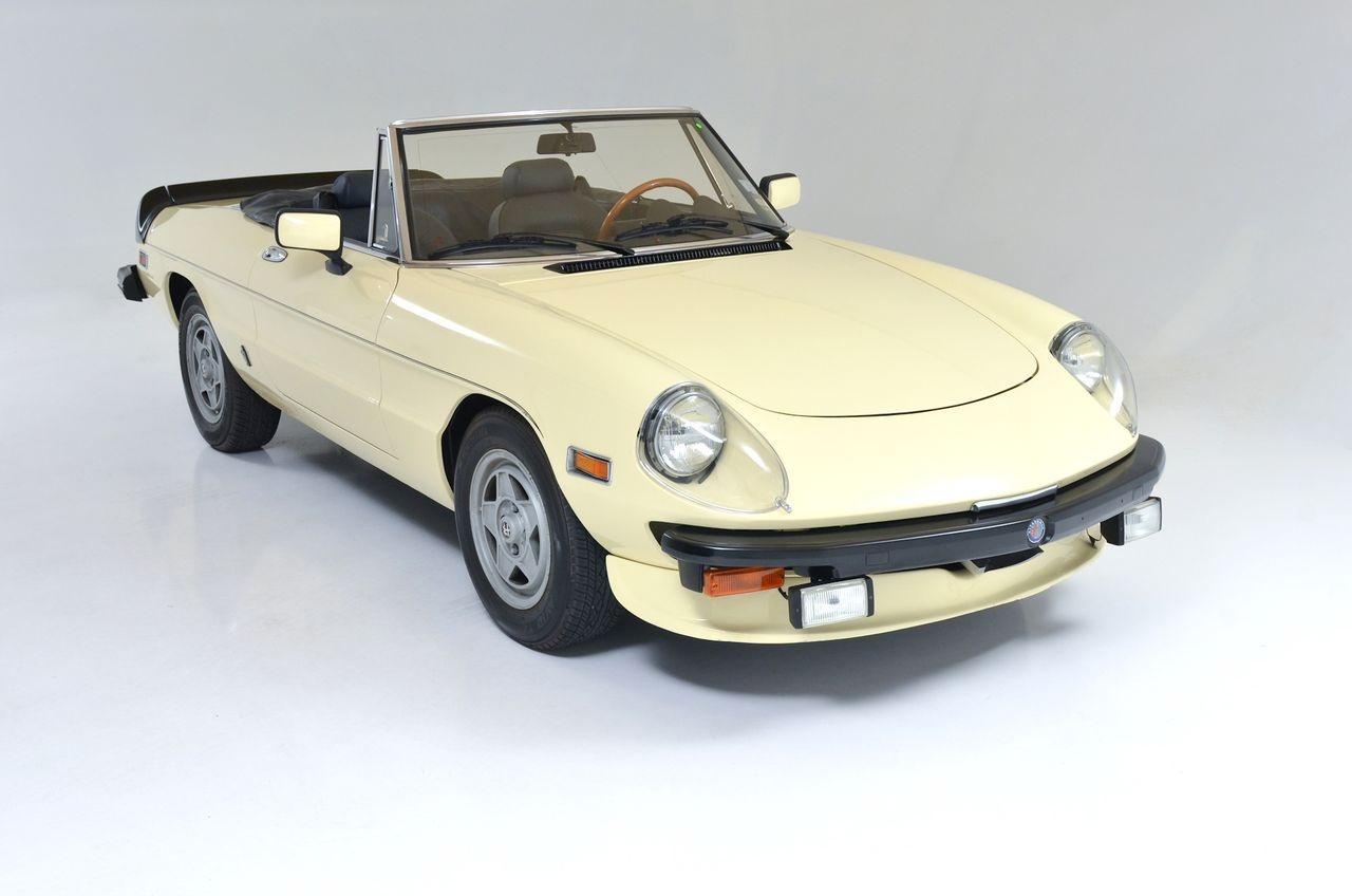 1982 Alfa Romeo Spider Veloce Convertible Exotic And
