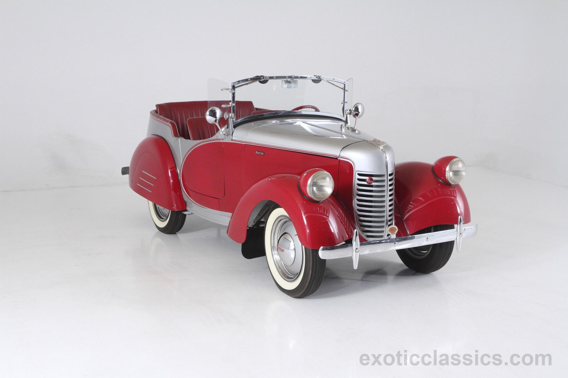 1939 Bantam Model 60 Speedster - Exotic and Classic Car Dealership ...