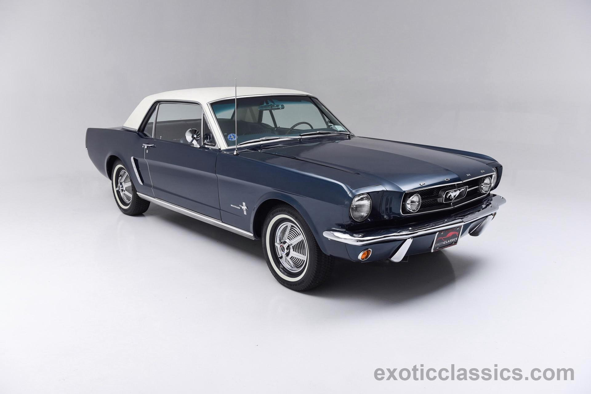 1965 Ford Mustang Exotic Classic Car Dealership New York