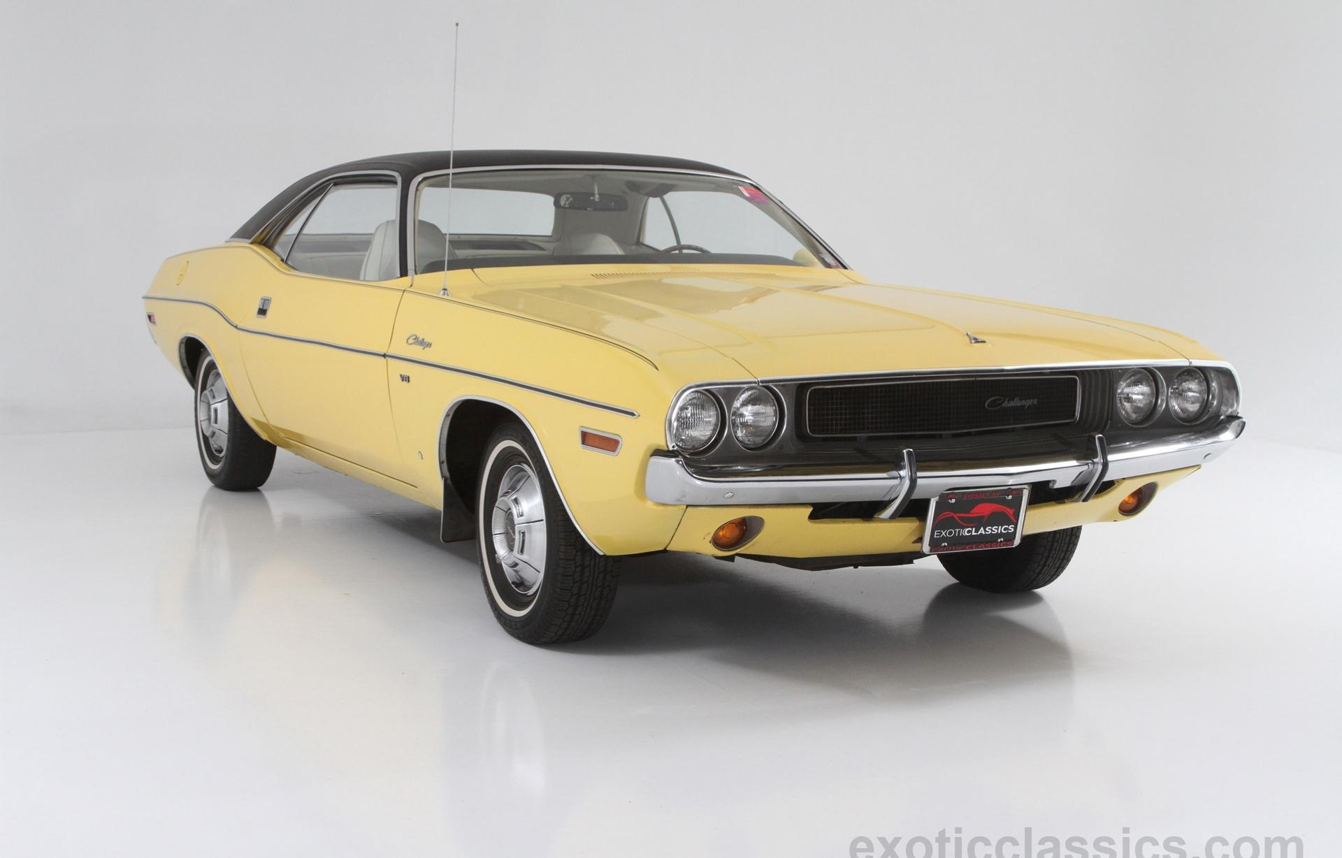 1970 Dodge Challenger Exotic Classic Car Dealership New