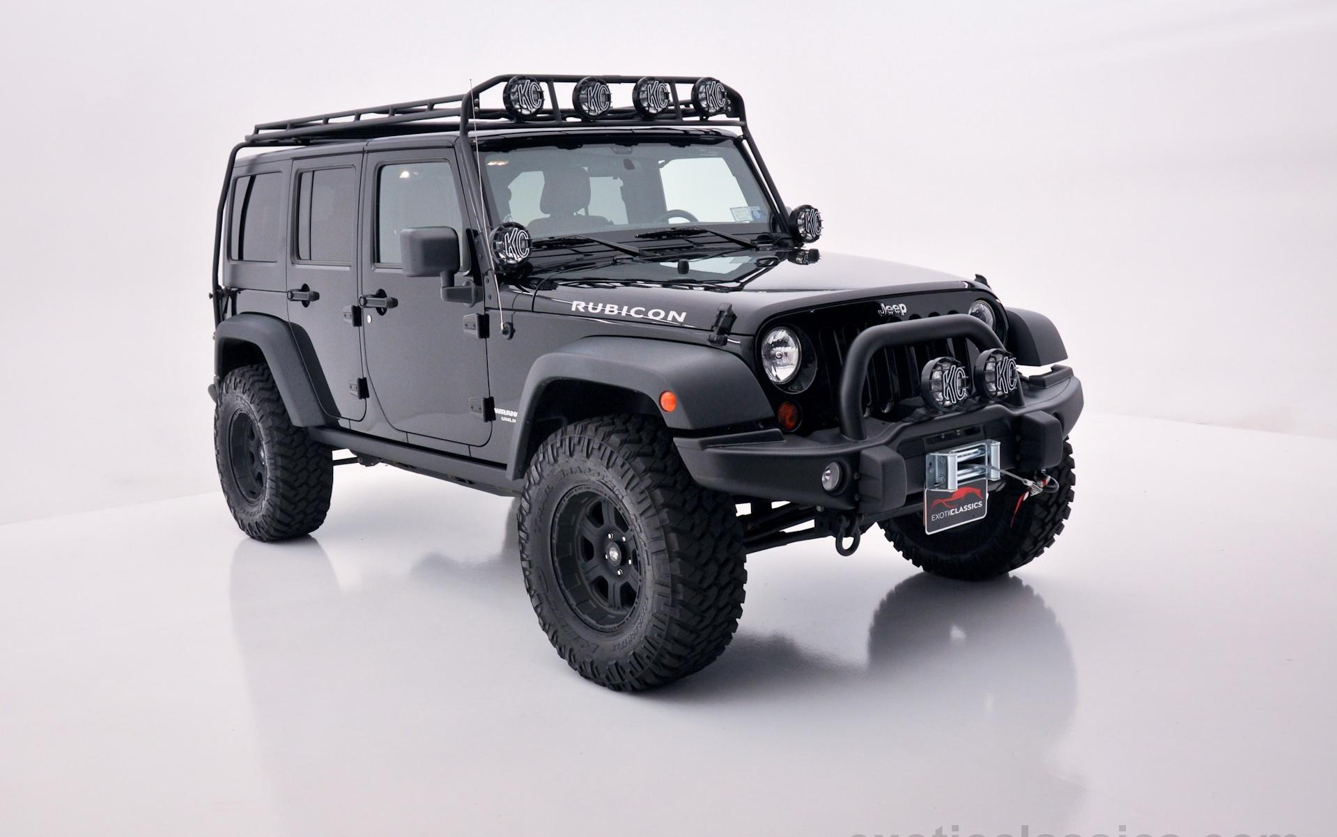 2011 Jeep Wrangler Rubicon Exotic and Classic Car Dealership