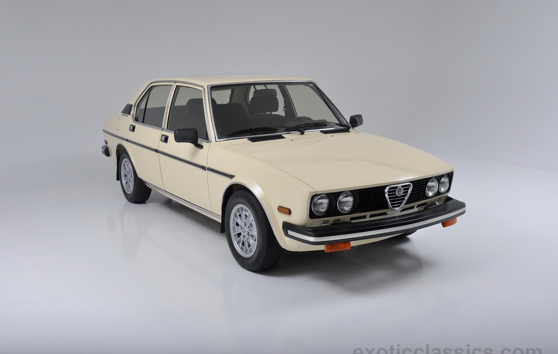 1979 alfa romeo sport sedan exotic classic car dealership new york l champion motors. Black Bedroom Furniture Sets. Home Design Ideas