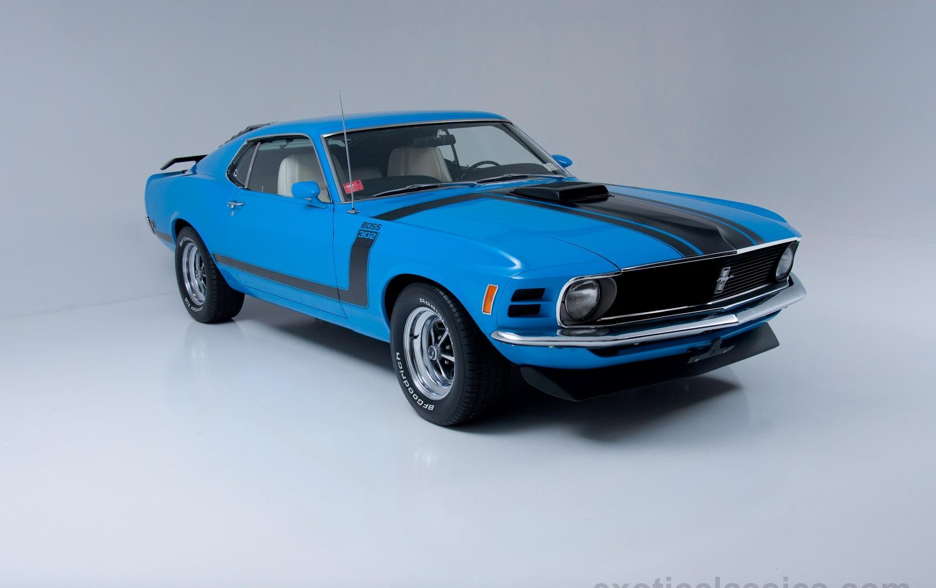 1970 Ford Mustang Boss 302 Champion Motors International L Exotic
