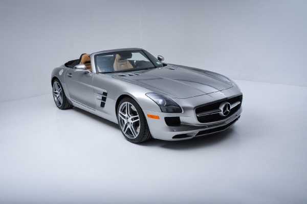 2012 Mercedes-Benz SLS Convertible