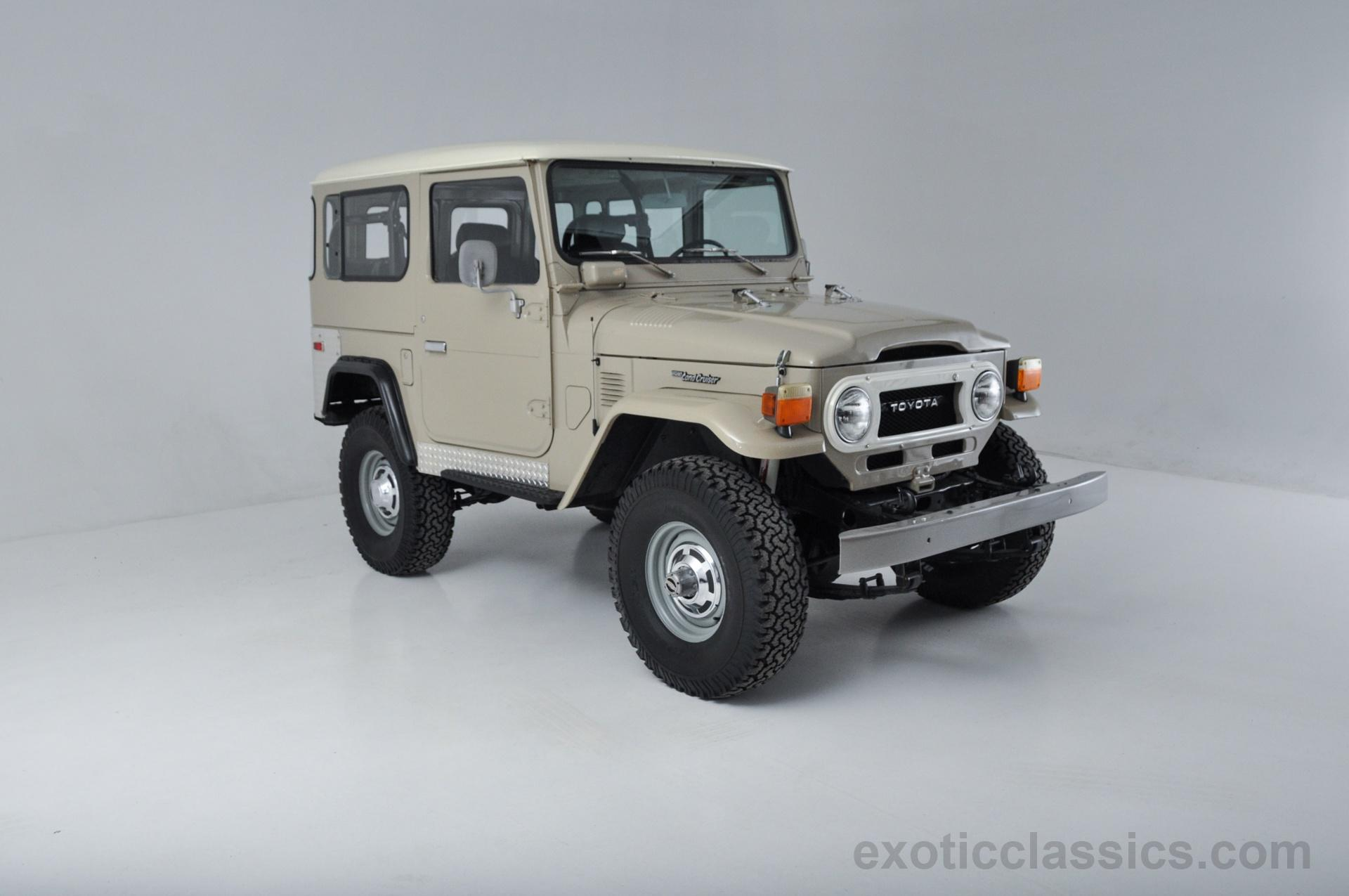1977 Toyota Land Cruiser Fj40 Champion Motors