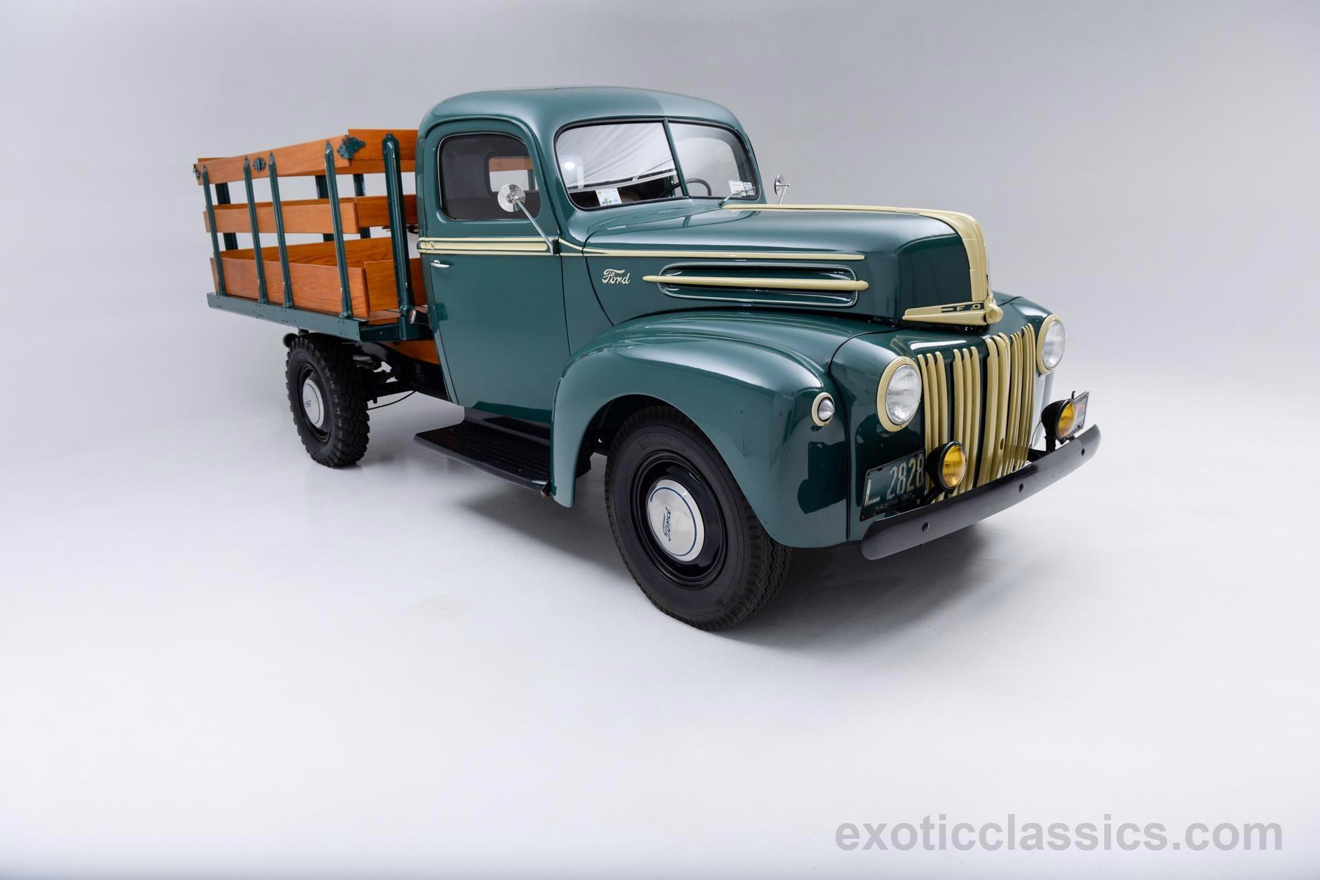 Used Cars Long Island >> 1947 Ford Pickup Stakebed - Champion Motors International l Exotic Classic Car Dealership New ...