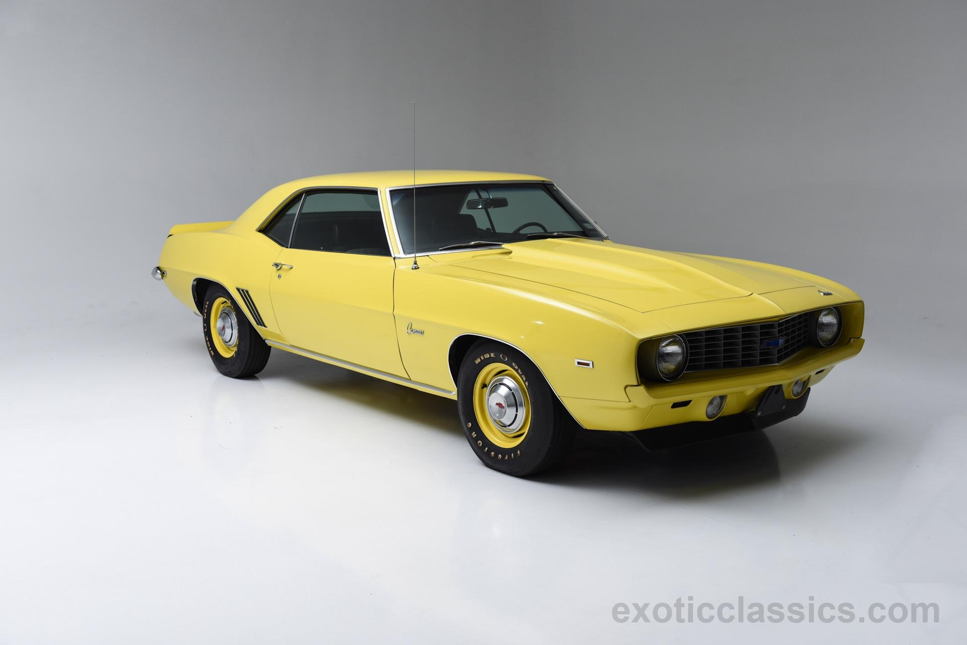 1969 chevrolet camaro copo tribute - exotic classic car dealership