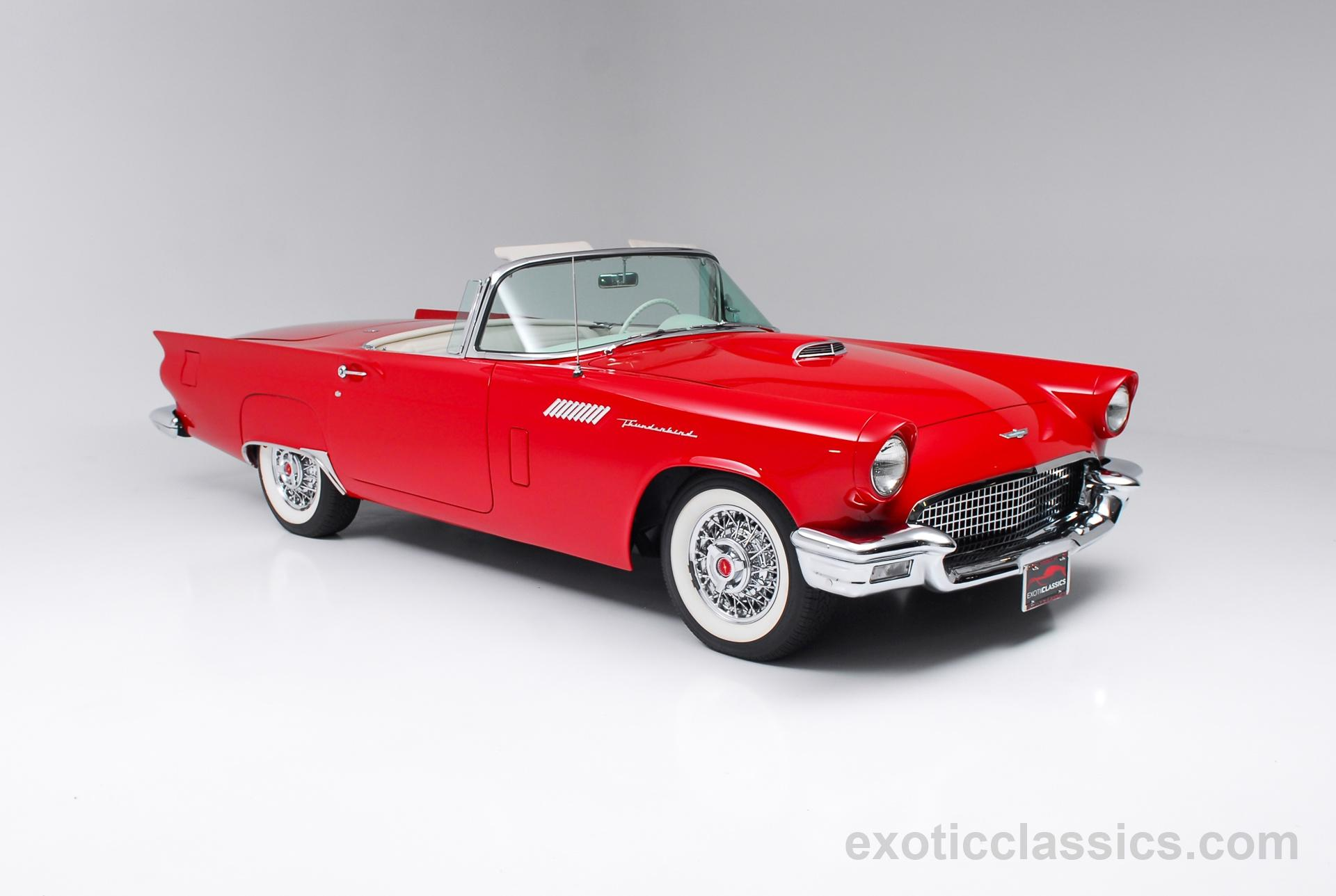 1957 ford thunderbird champion motors international l luxury classic vehicle dealership new. Black Bedroom Furniture Sets. Home Design Ideas