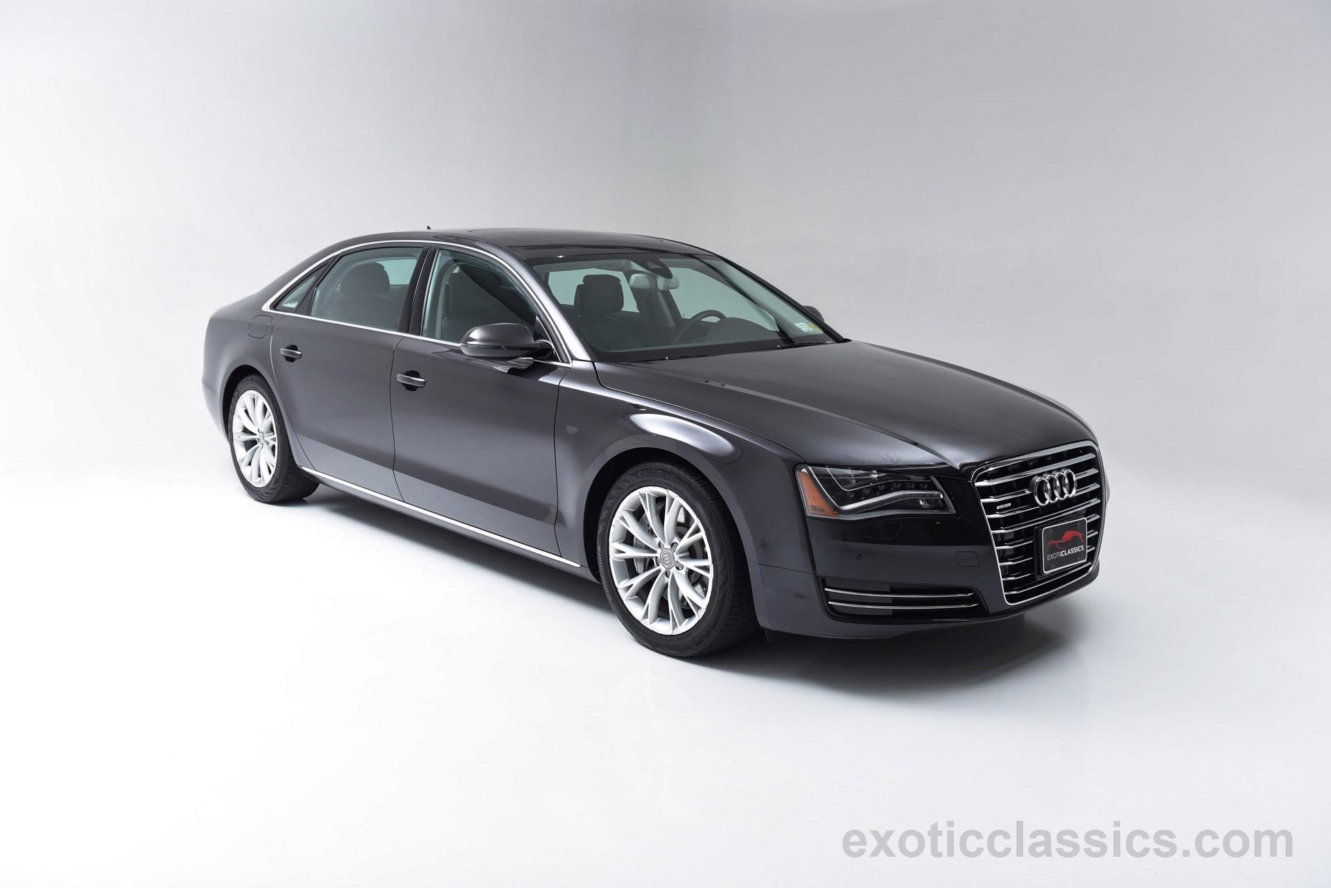 2012 audi a8 l quattro exotic and classic car dealership specializing in ferrari porsche. Black Bedroom Furniture Sets. Home Design Ideas