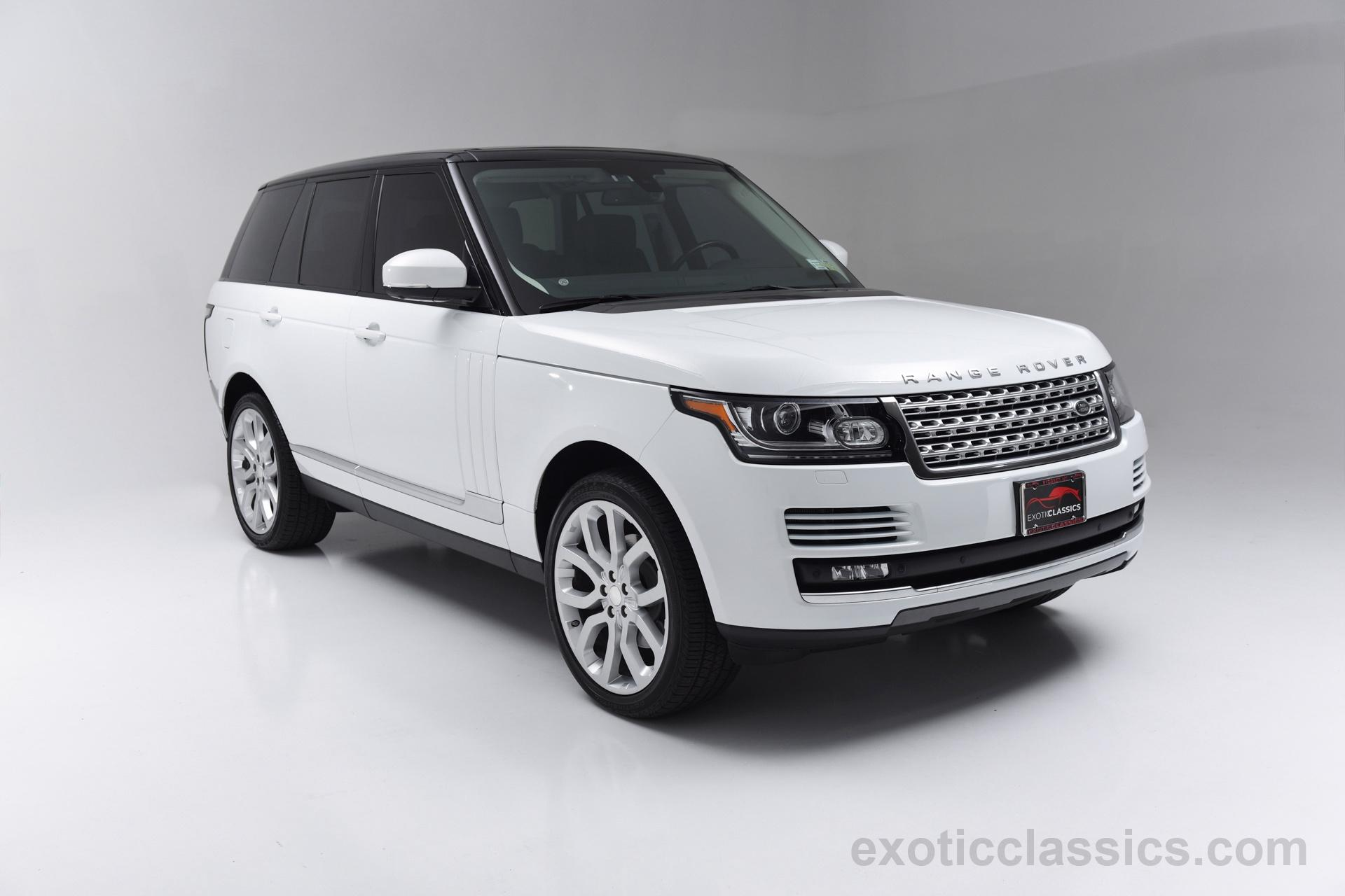 2014 Land Rover Range Rover Hse Champion Motors