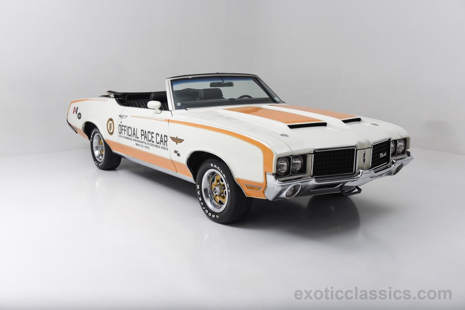 1972 Oldsmobile Hurst Pace Car Champion Motors International l