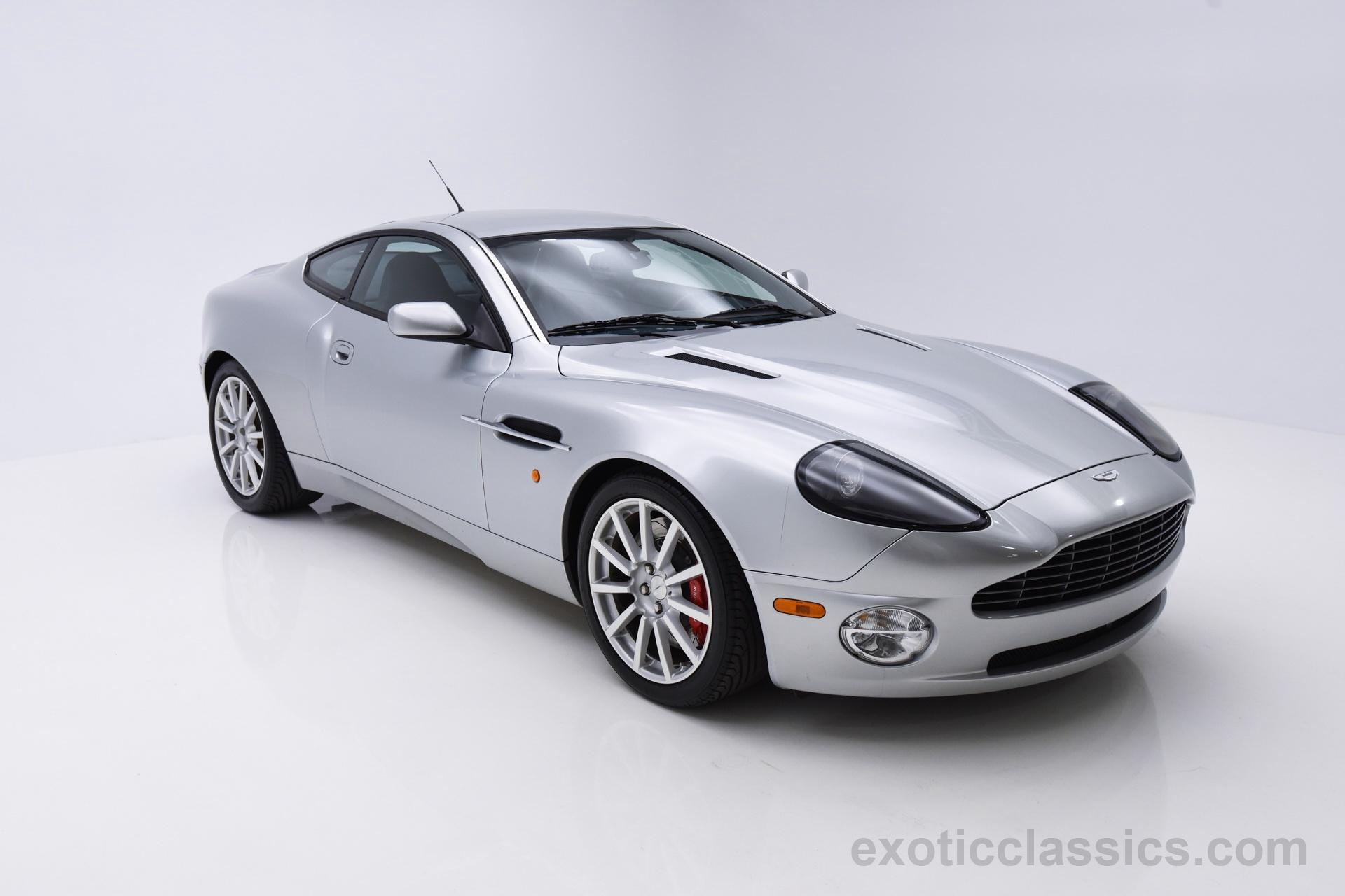 2006 aston martin vanquish s - exotic and classic car dealership