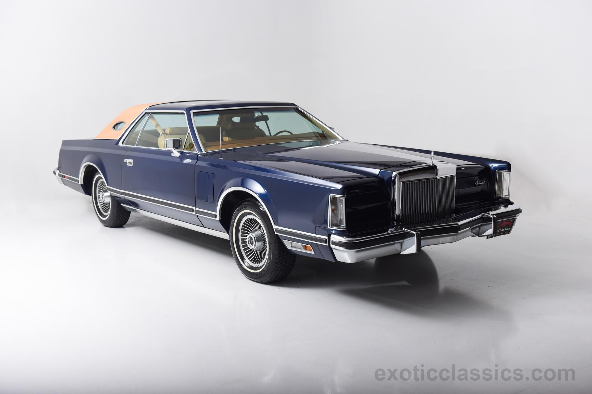 1977 Lincoln Mark V Exotic And Classic Car Dealership