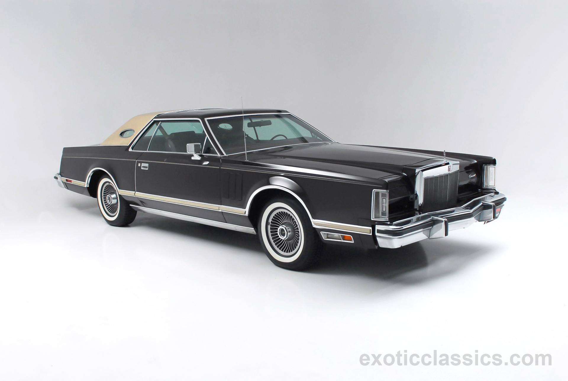 1978 Lincoln Mark V - Exotic and Classic Car Dealership ...