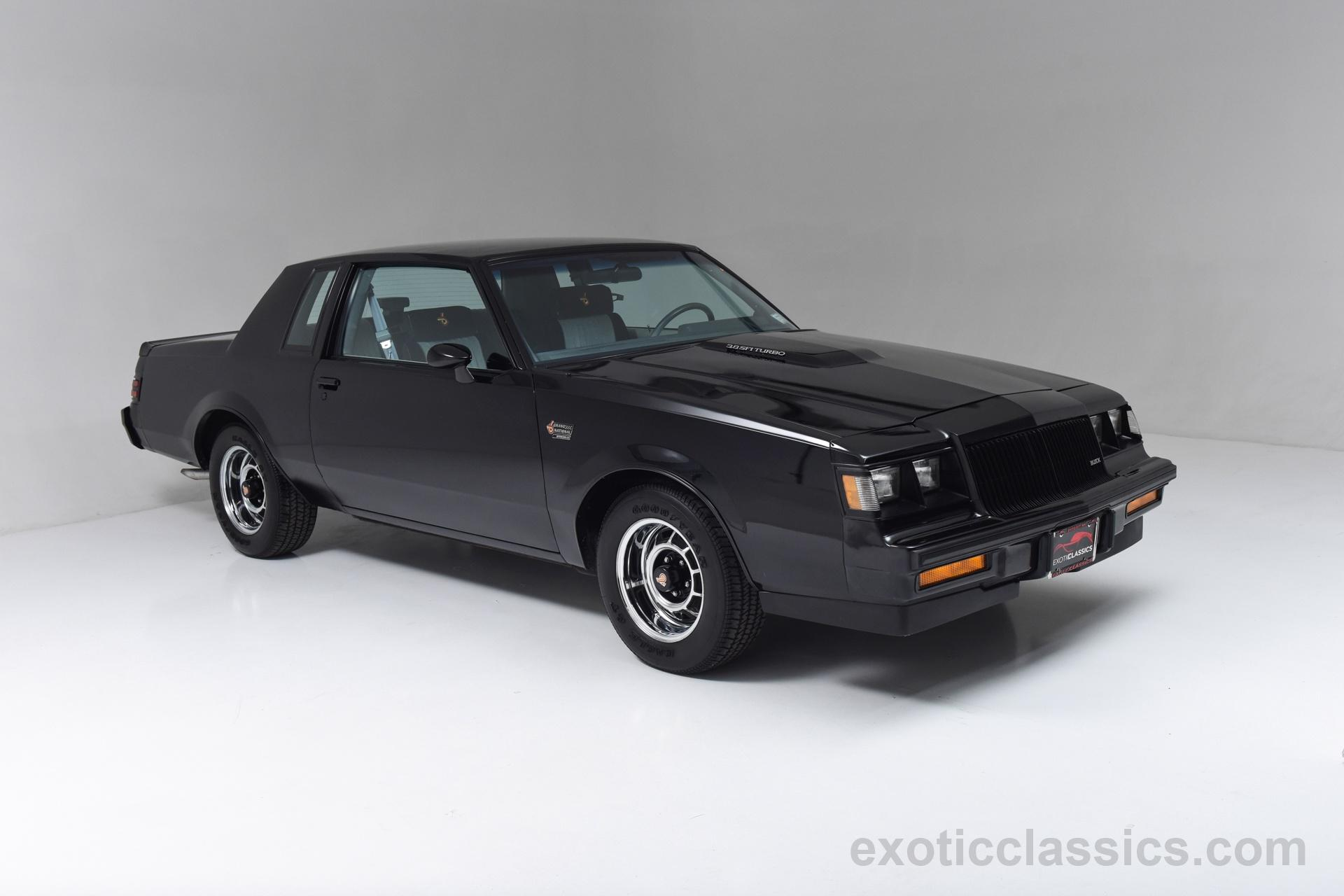 1987 Buick Grand National Grand National Turbo Champion