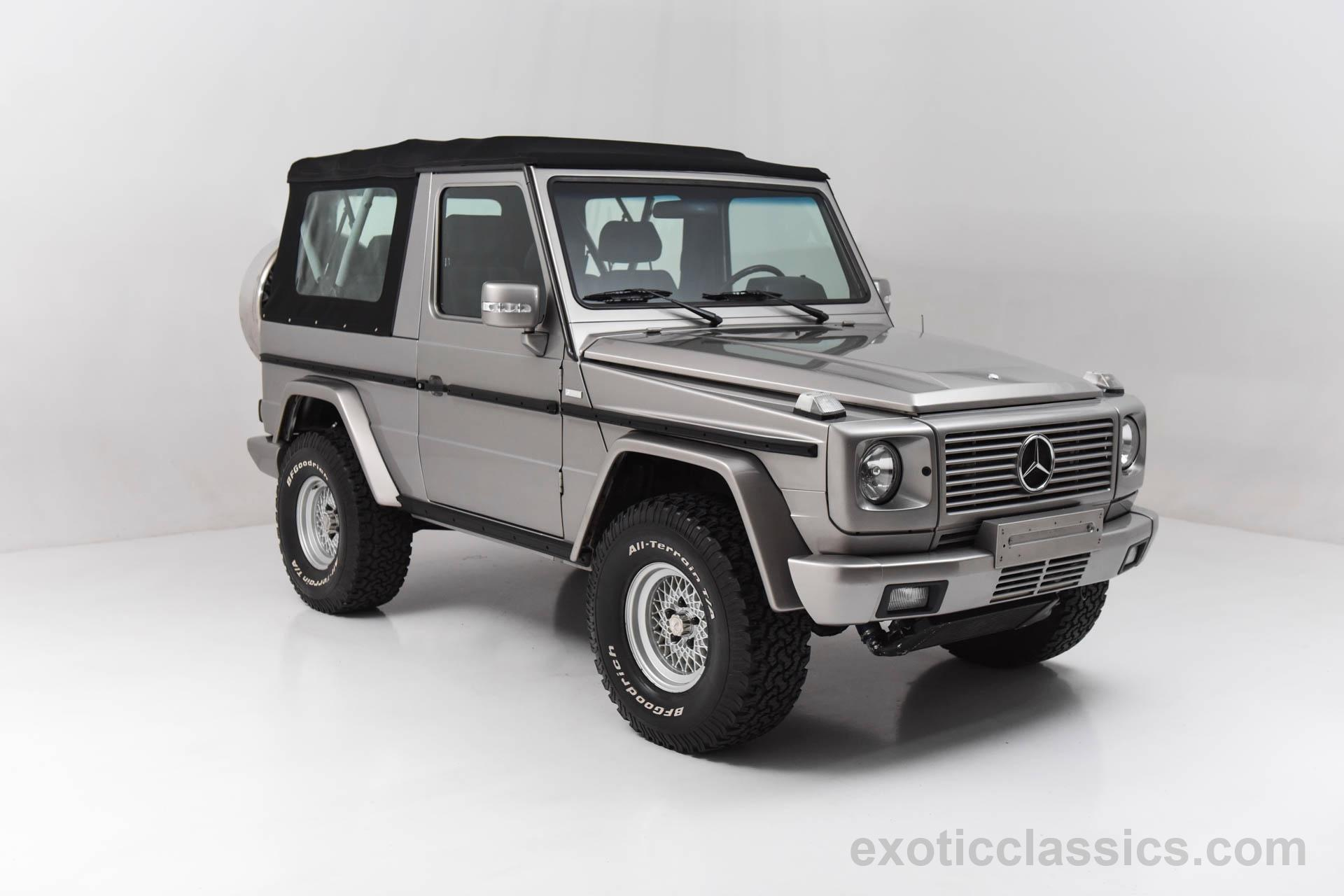 1985 Mercedes Benz Gelandenwagen Cabriolet G CLASS Exotic and