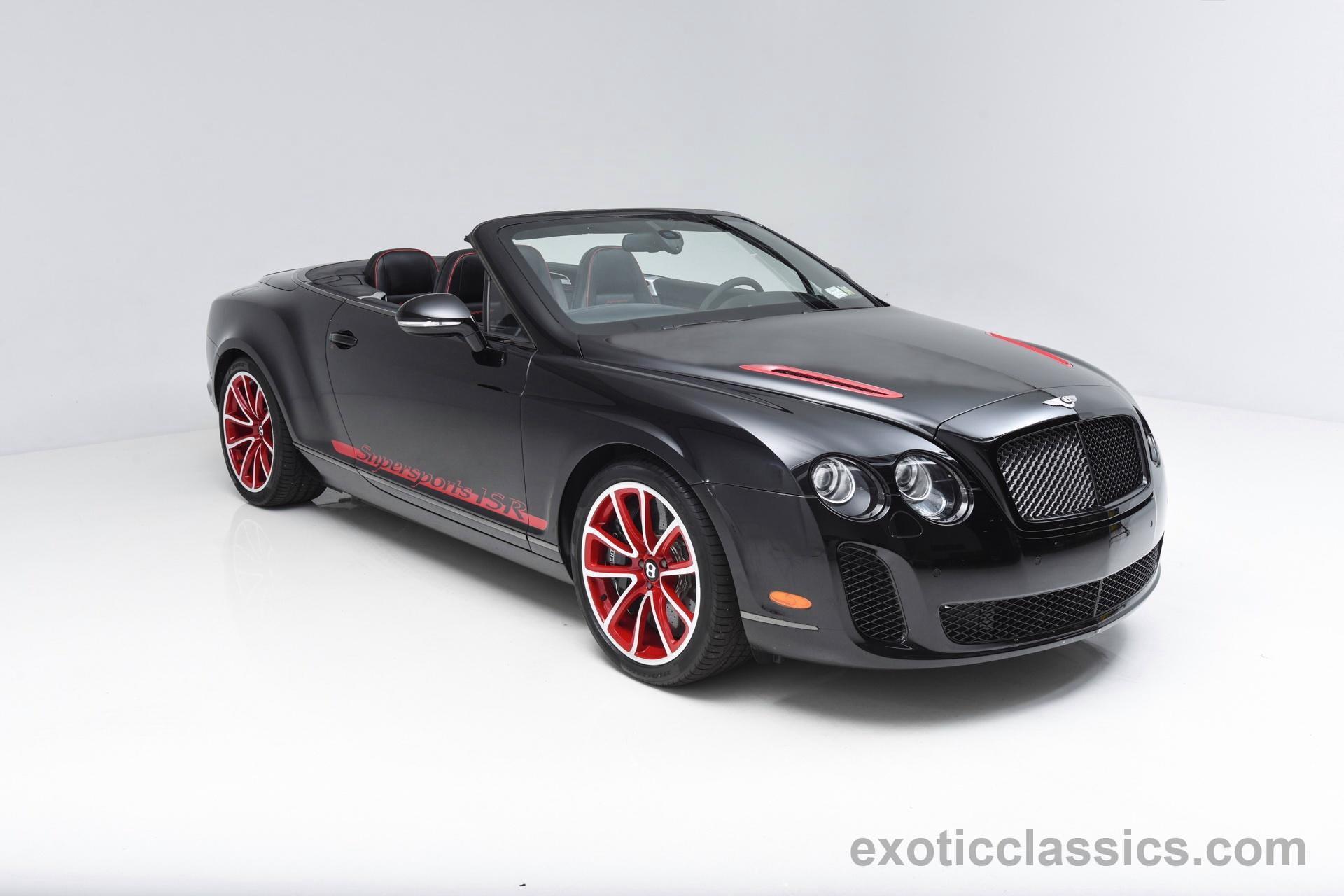 2013 Bentley Continental Supersports Isr Champion Motors