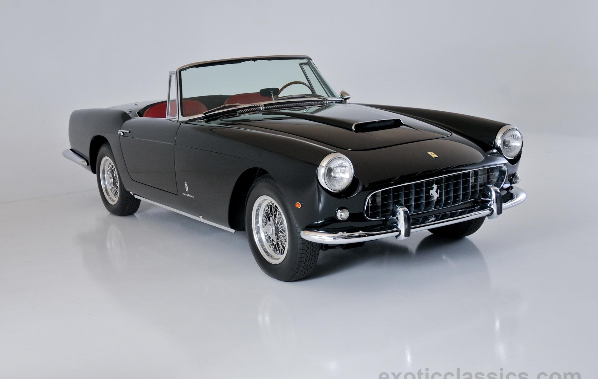1962 Ferrari 250 PF Cabriolet - Exotic Classic Car Dealership New ...