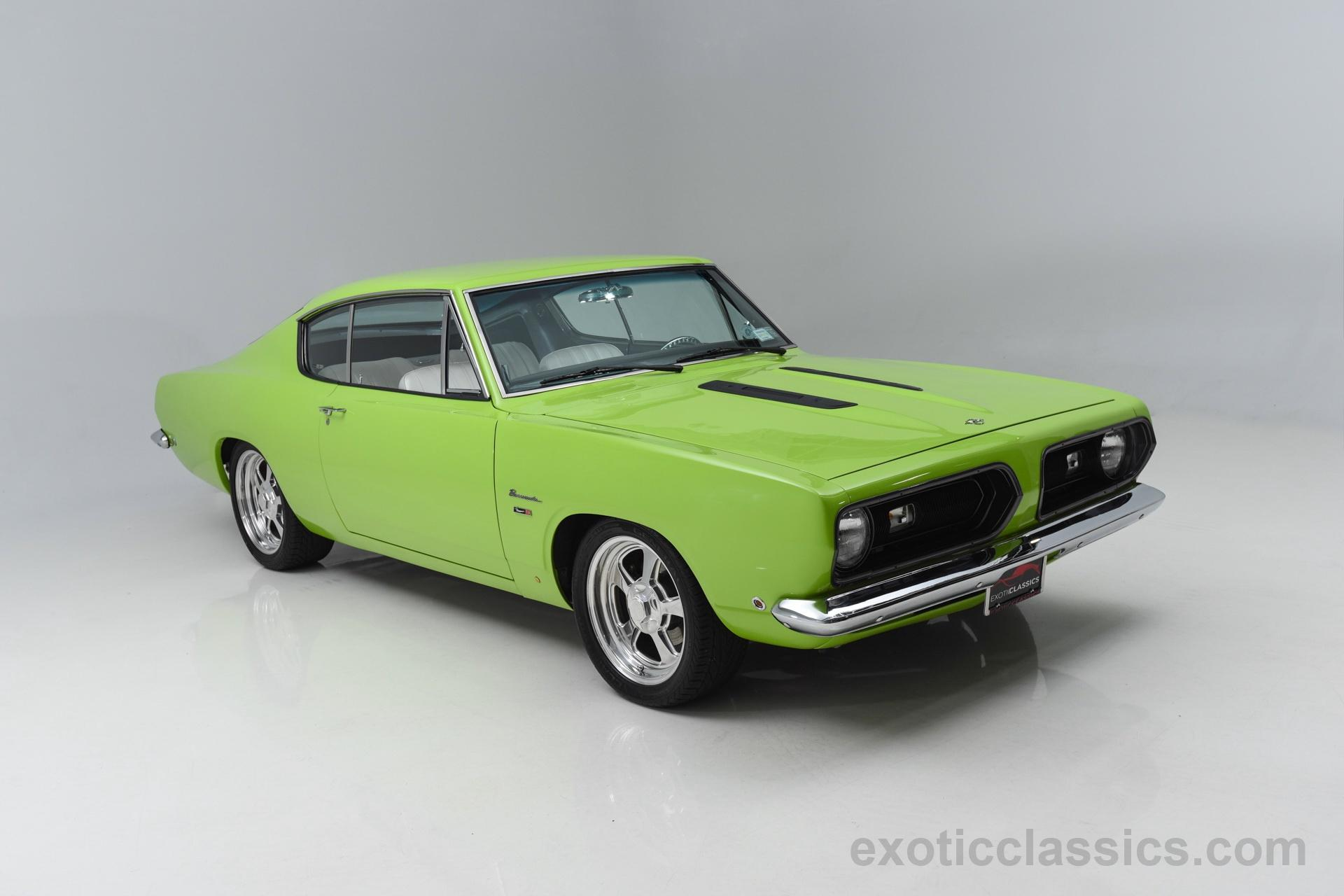 Plymouth Barracuda Exotic And Classic Car Dealership