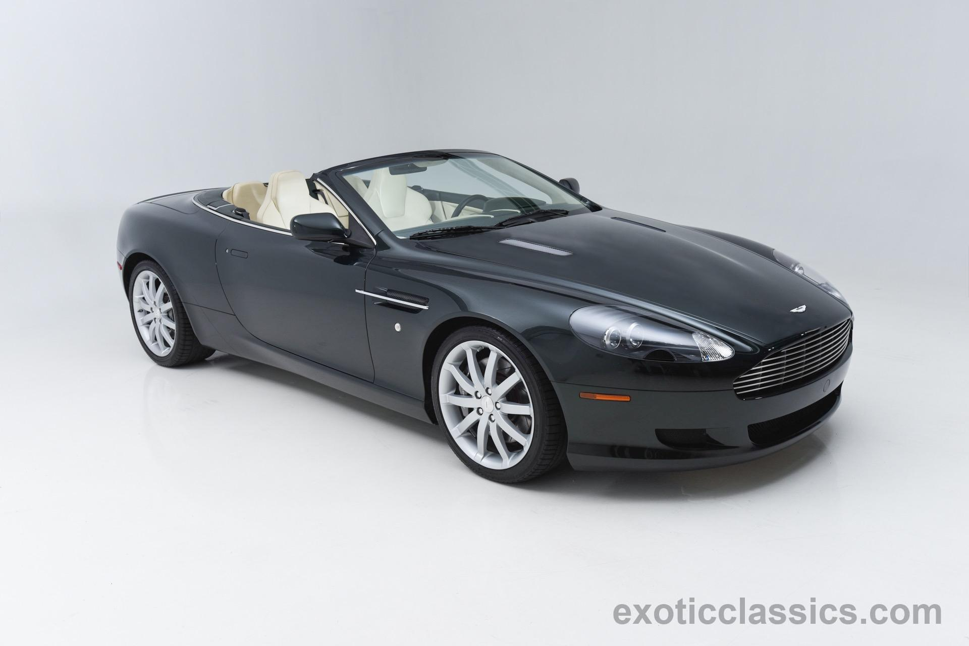 Aston Martin DB Volante Champion Motors International L - Aston martin vanquish 2006 for sale