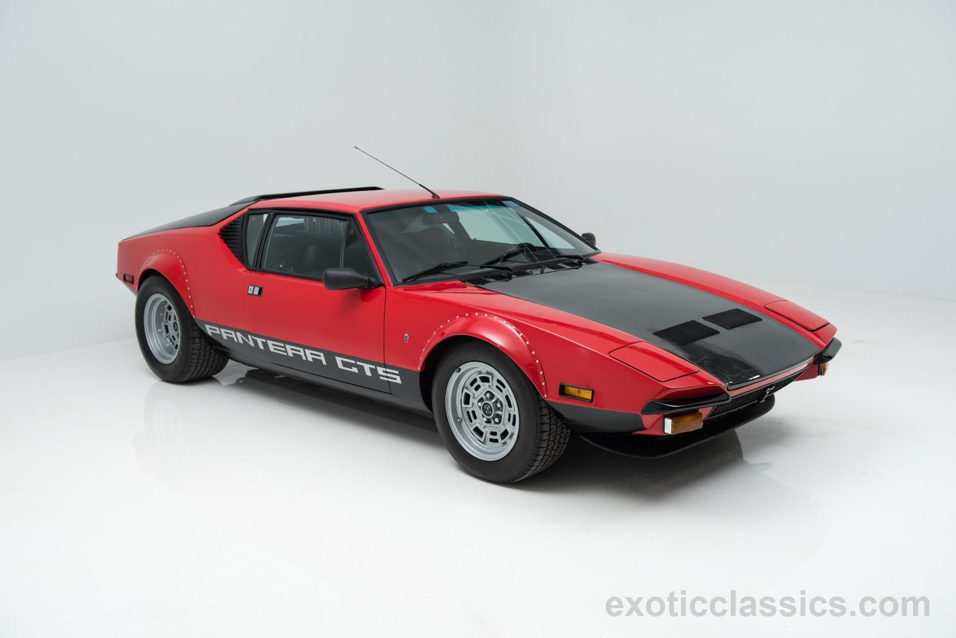 1974 DeTomaso Pantera GTS Exotic and Classic Car Dealership