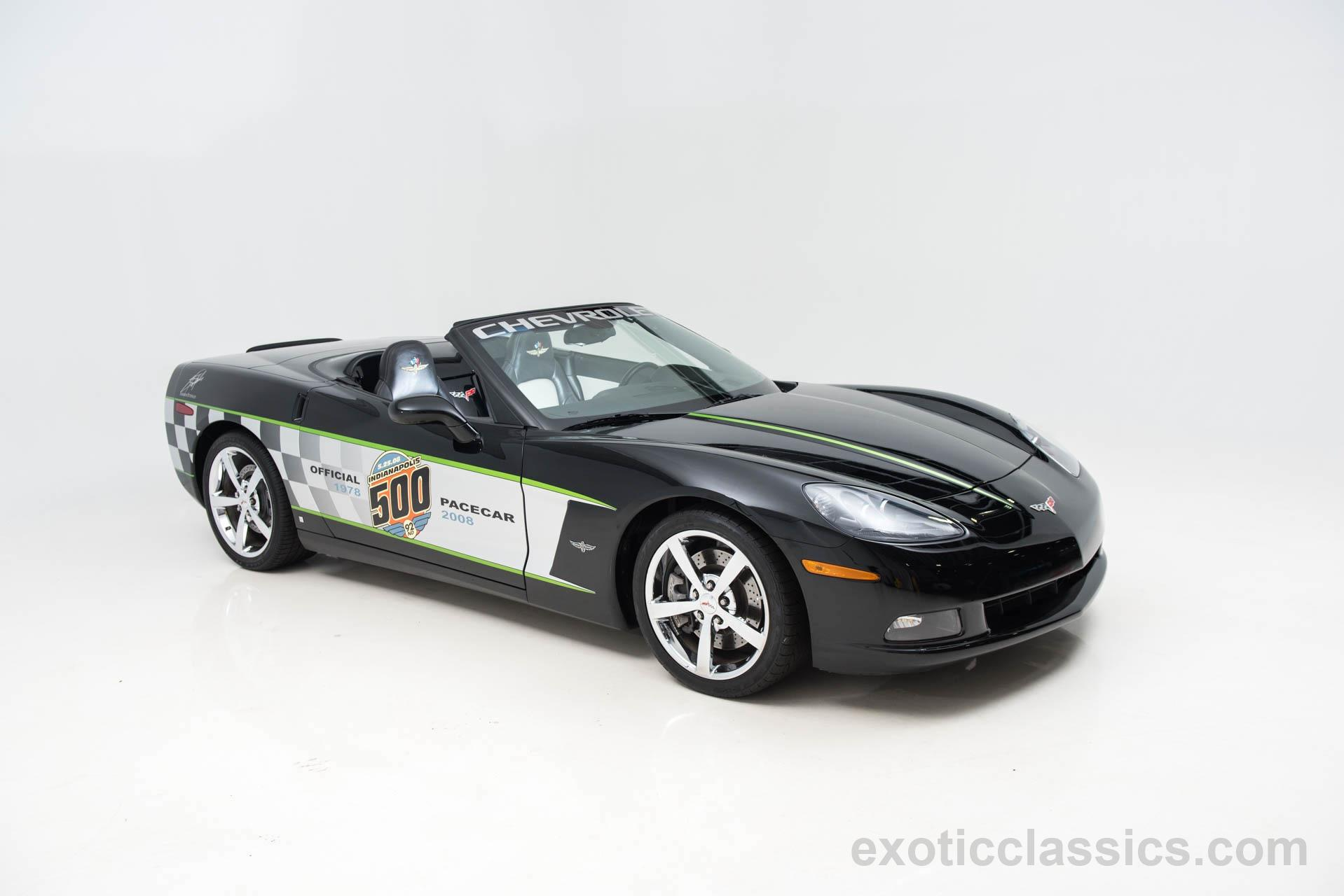 2008 Chevrolet Corvette Indy 500 Pace Car Indy 500 Pace Car Replica