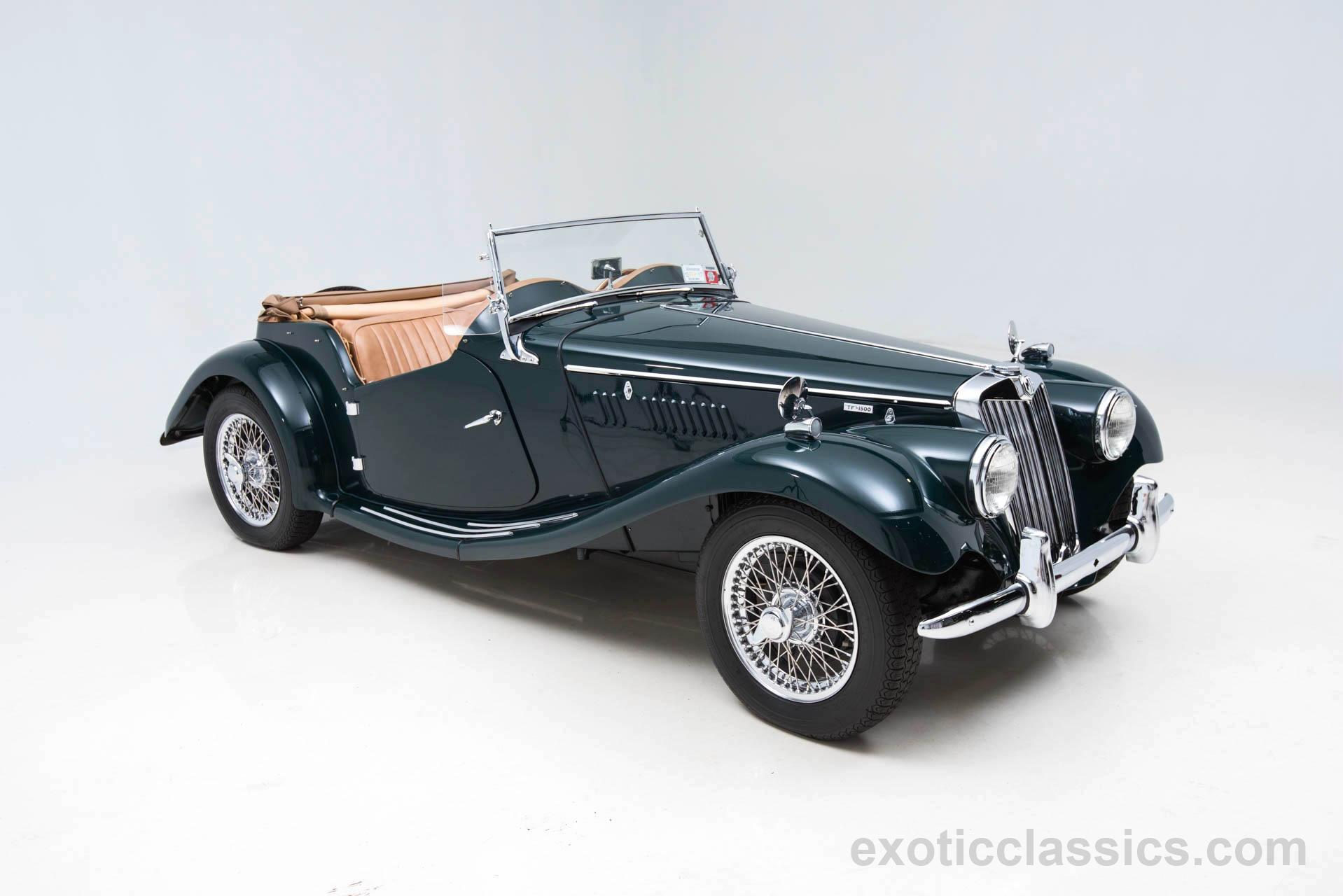 1955 mg tf 1500 exotic and classic car dealership specializing 1955 mg tf 1500 vanachro Gallery