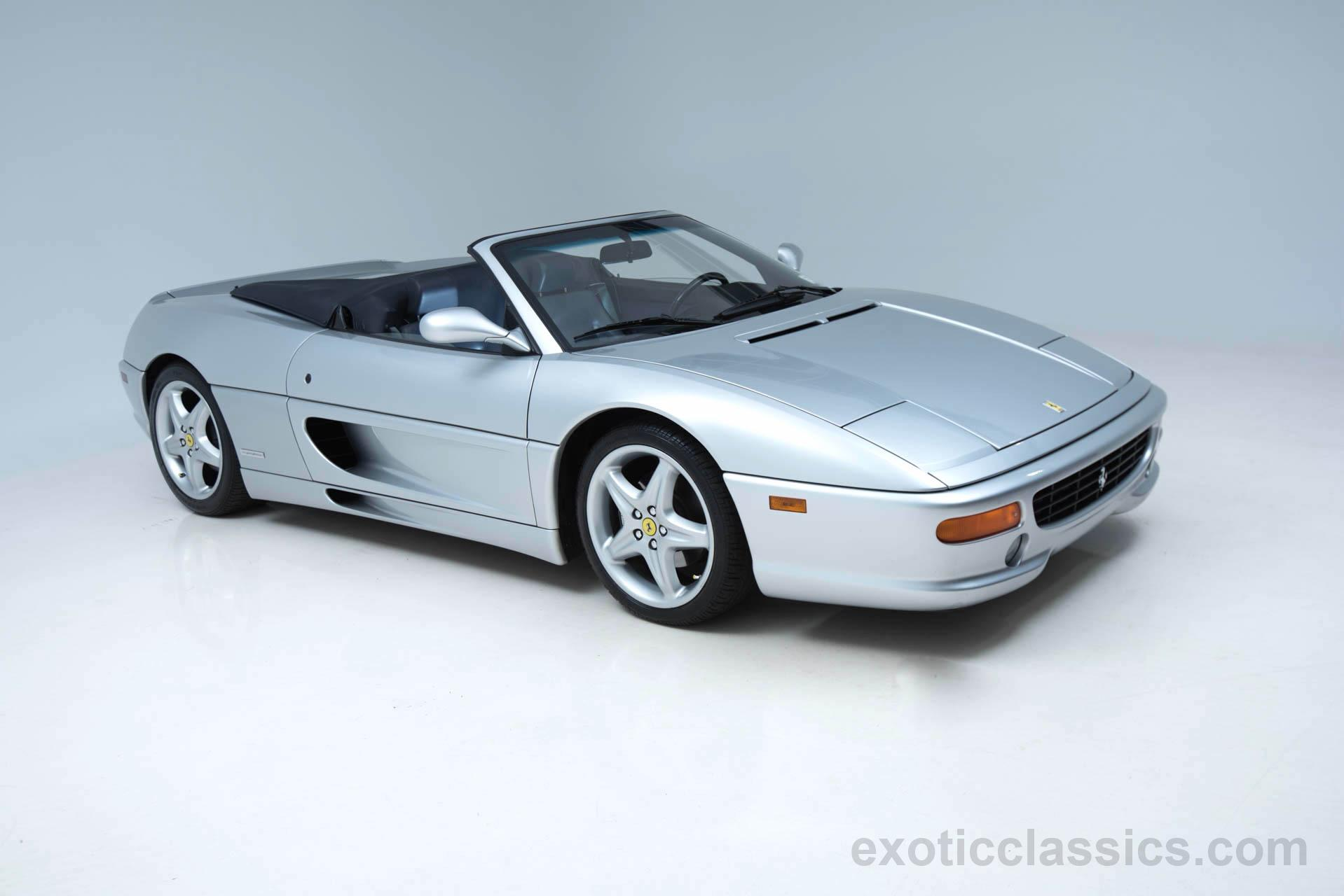 1997 Ferrari F355 Spider 6-Speed Manual