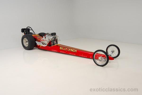 1968 Dragster Trailer included!