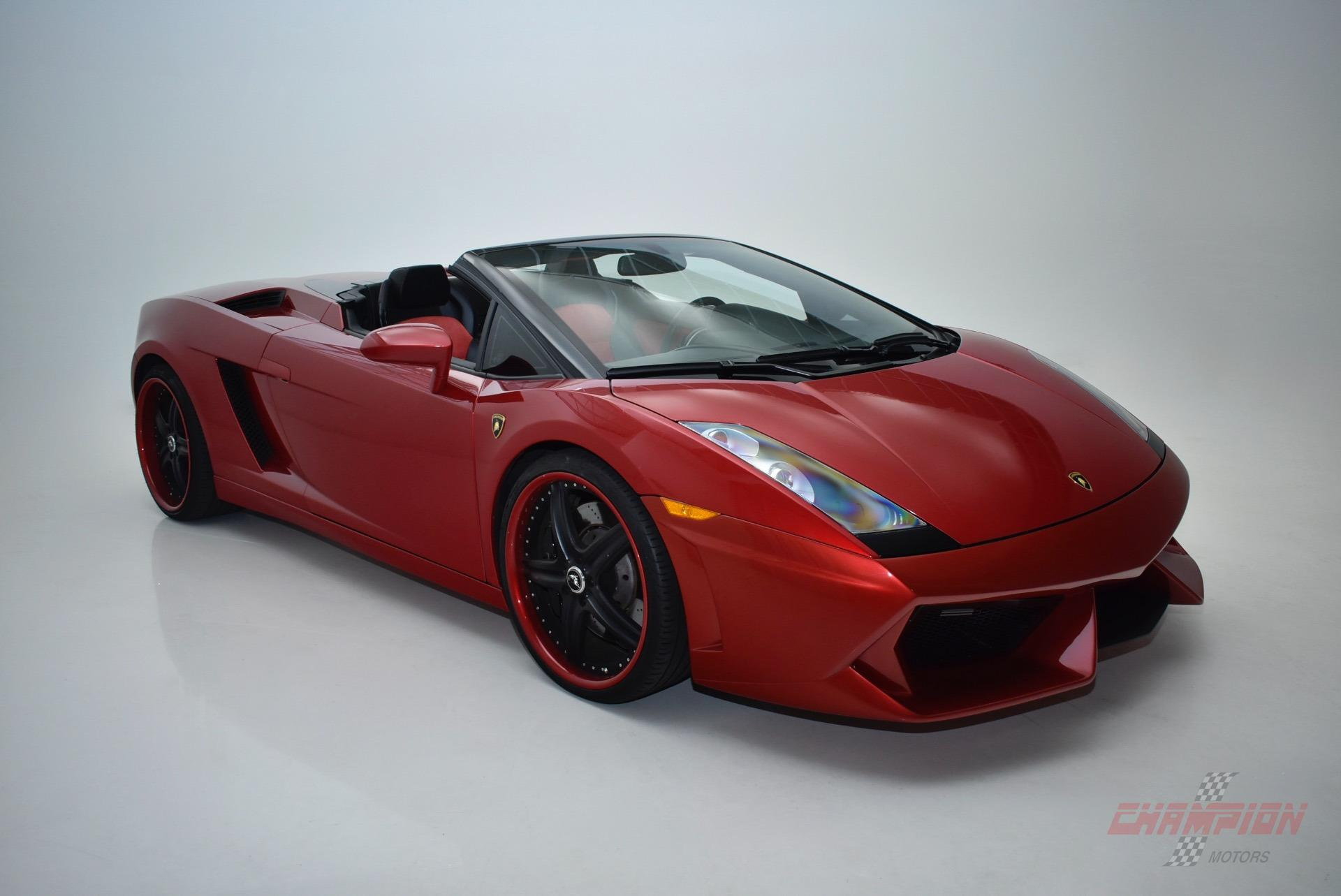 2007 Lamborghini Gallardo Spyder Champion Motors International L