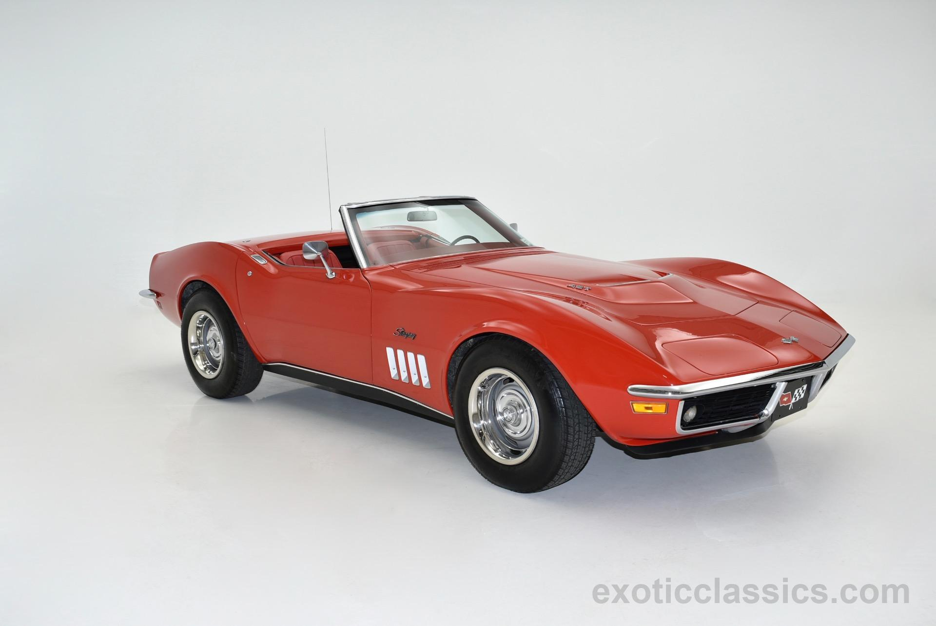 Chevrolet Corvette Exotic And Classic Car Dealership - 1969 classic cars