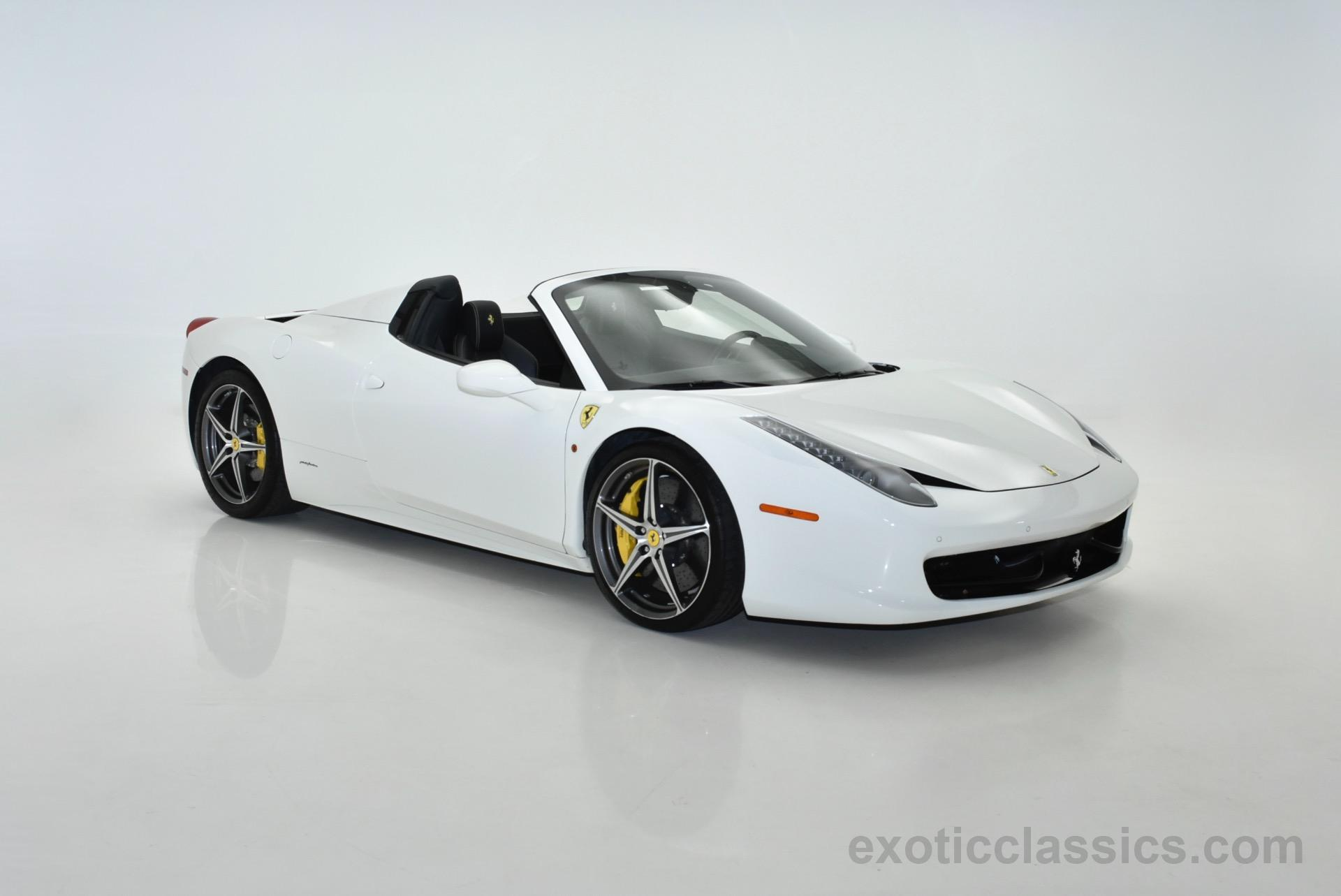 2014 ferrari 458 spider exotic and classic car dealership specializing in ferrari porsche. Black Bedroom Furniture Sets. Home Design Ideas