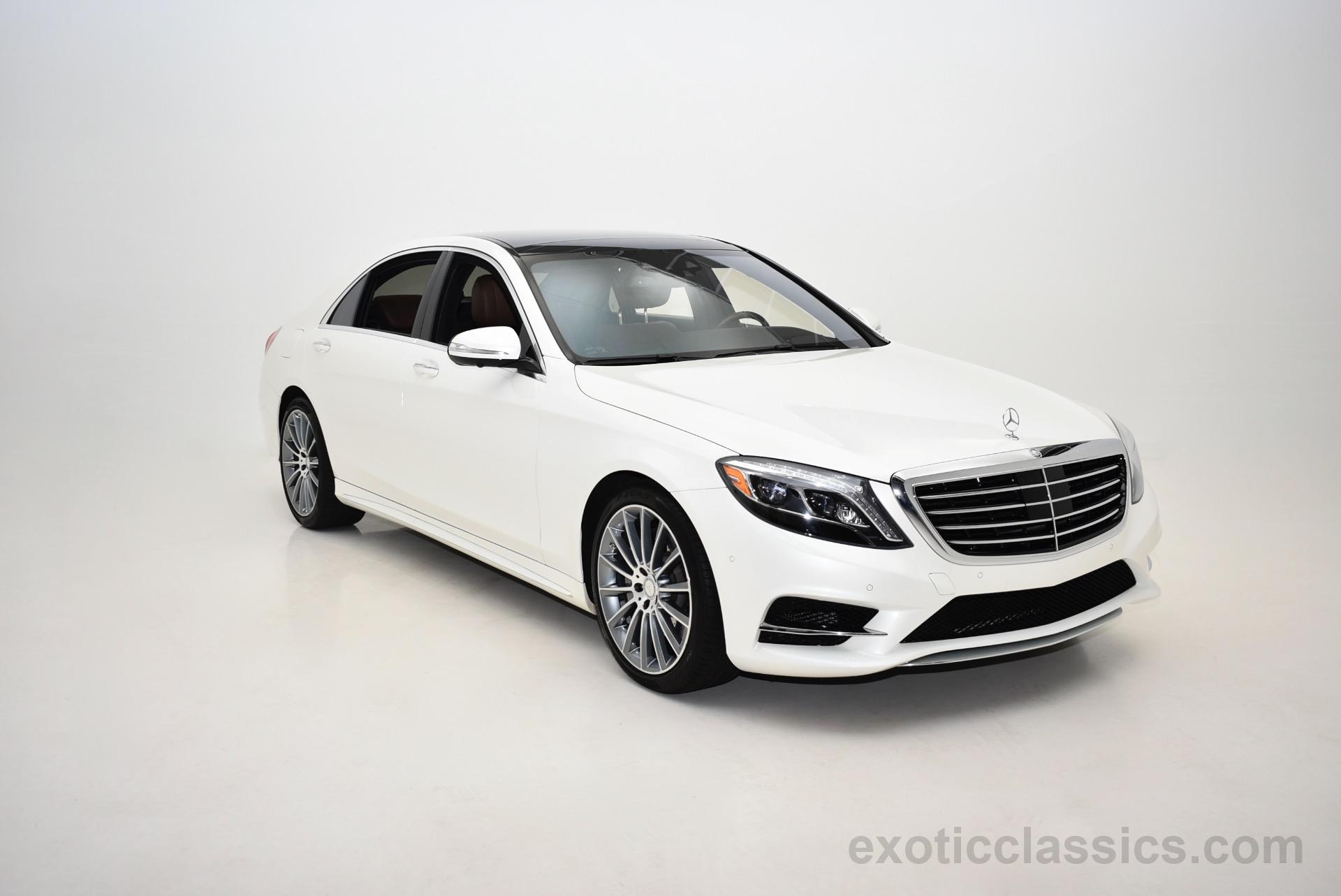 2015 Mercedes Benz S Class S 550 4MATIC Champion Motors