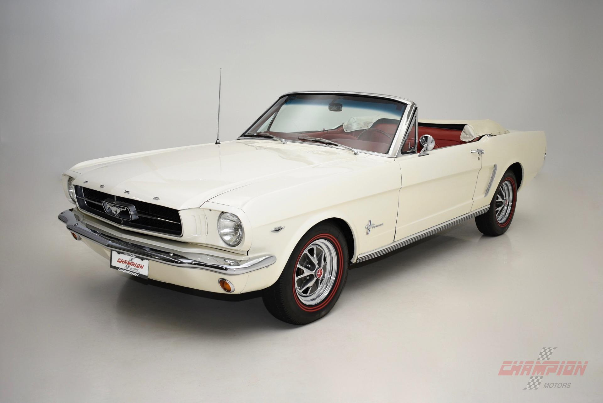 1965 Ford Mustang --: 1965 Ford Mustang  170 Miles White Convertible  Manual