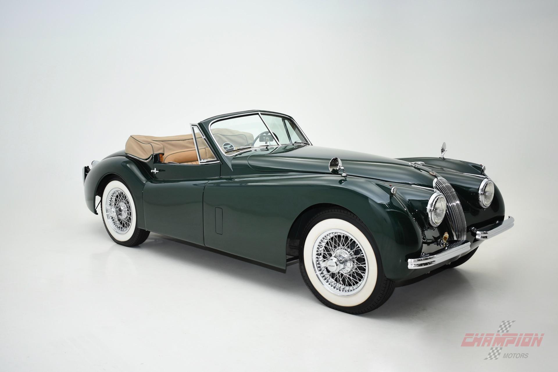 Exotic Car Dealership >> 1954 Jaguar XK120 Drophead Coupe - Champion Motors International l Exotic Classic Car Dealership ...