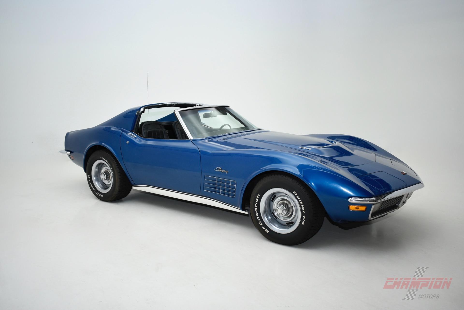 1971 Chevrolet Corvette - Champion Motors International l ...